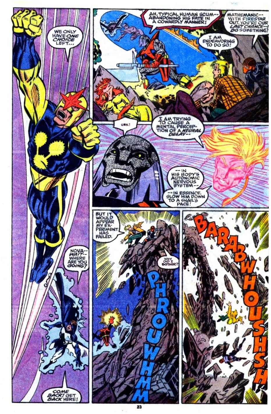 The New Warriors Issue #16 #20 - English 18