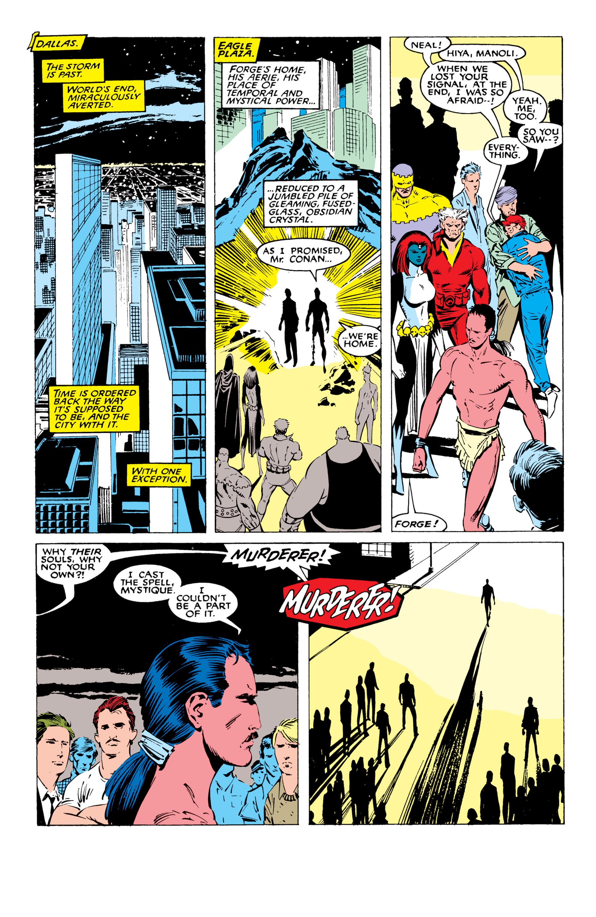 Read online Uncanny X-Men (1963) comic -  Issue #227 - 22