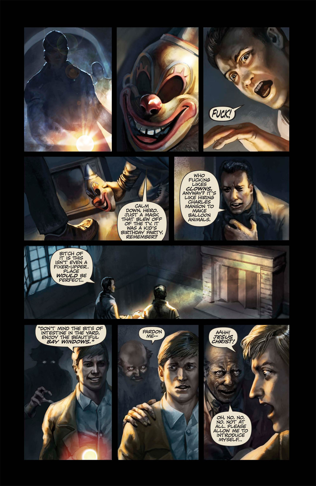 Read online Abattoir comic -  Issue #1 - 20