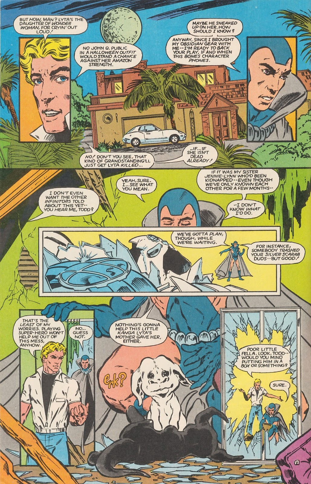 Infinity Inc. (1984) issue 17 - Page 4