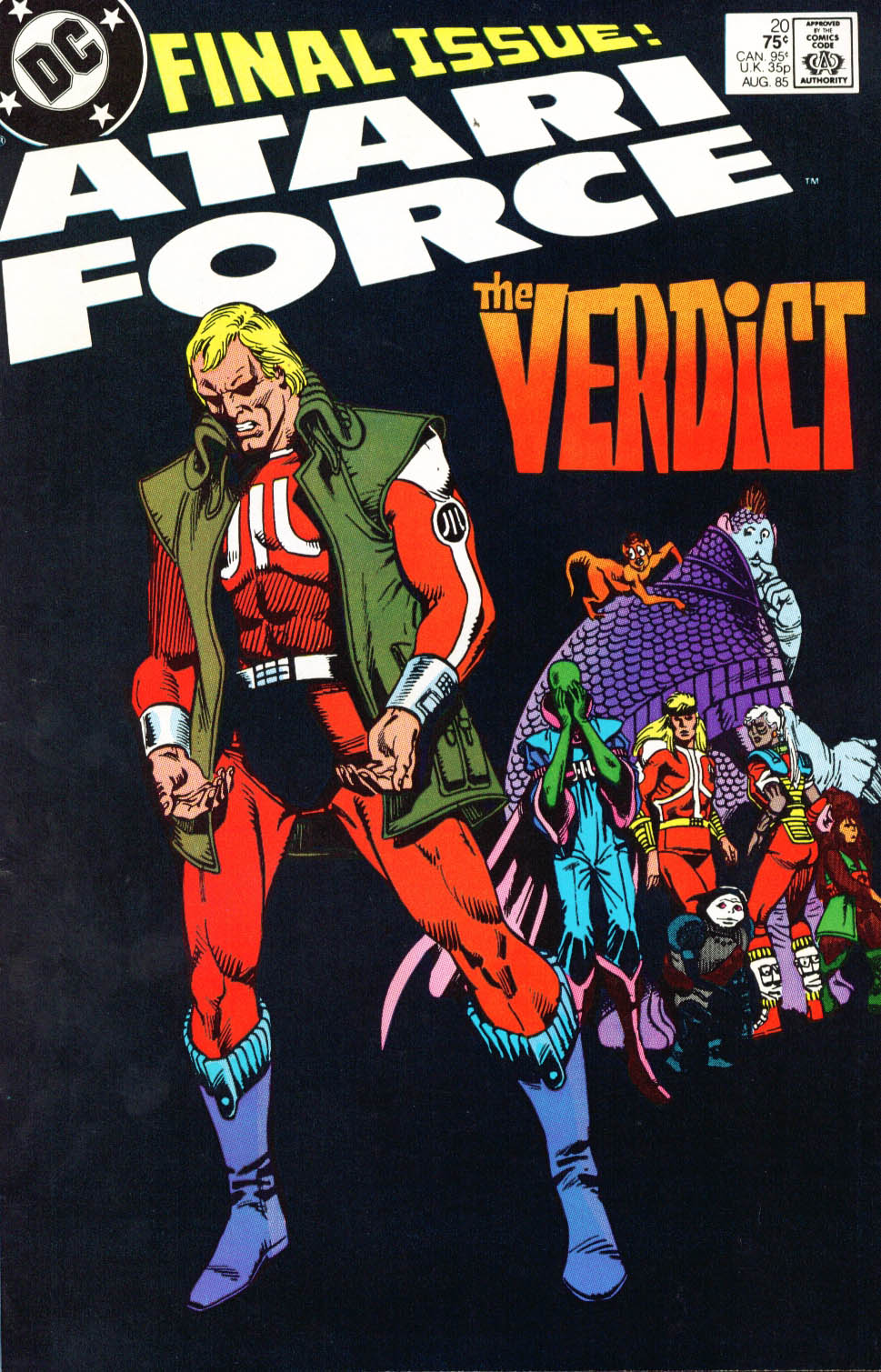 Read online Atari Force (1984) comic -  Issue #20 - 2