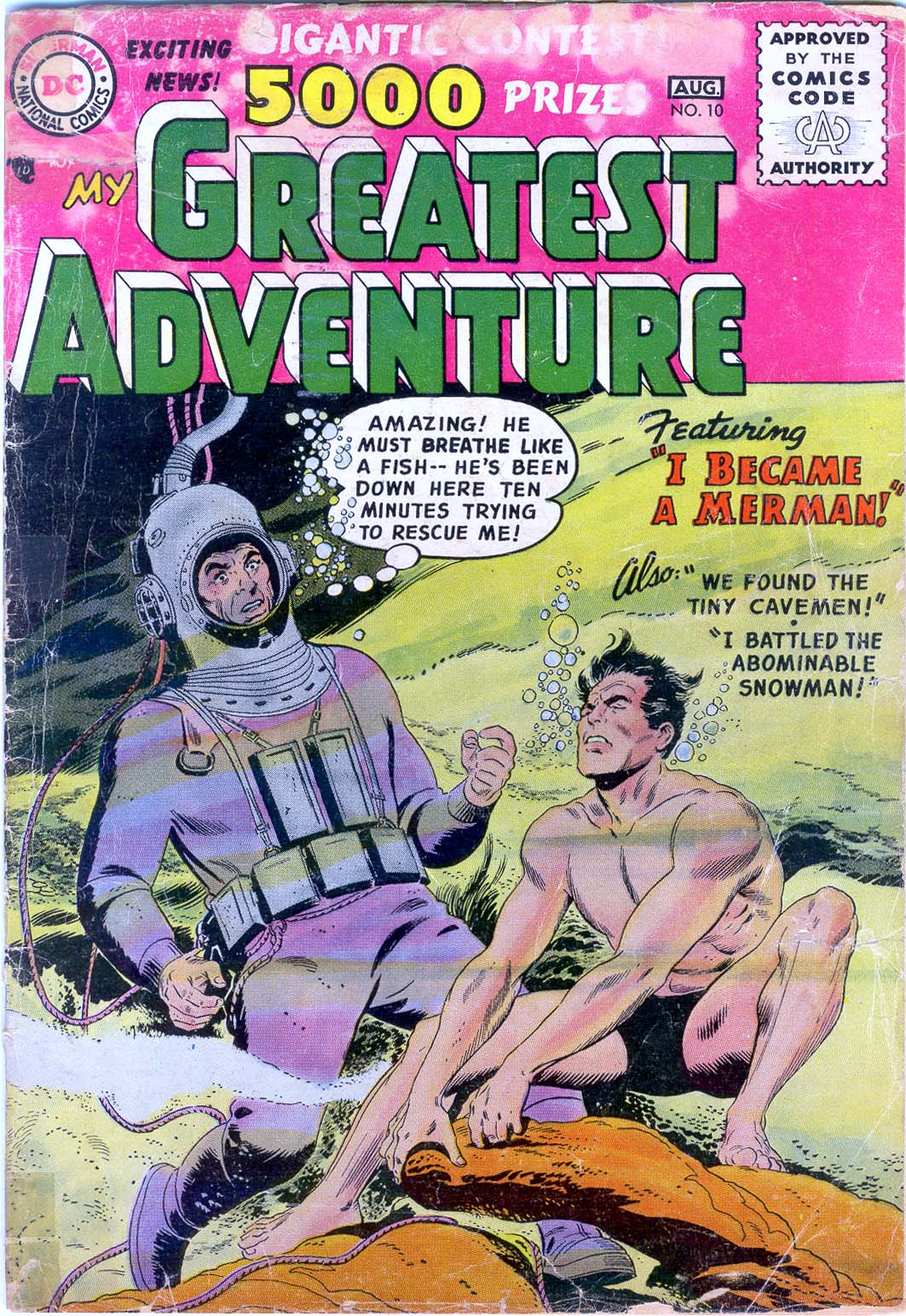 My Greatest Adventure (1955) 10 Page 1