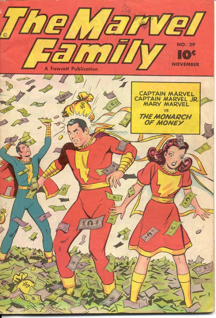 The Marvel Family 29 Page 1