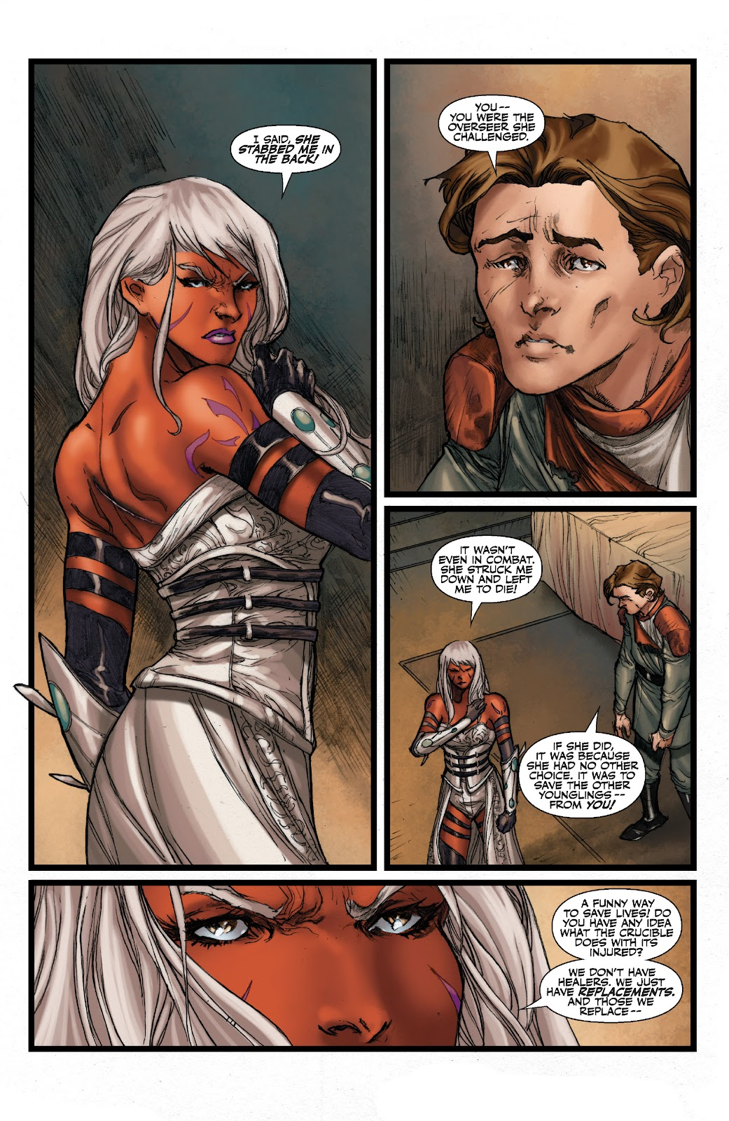 Read online Star Wars Legends: The Old Republic - Epic Collection comic -  Issue # TPB 3 (Part 2) - 95