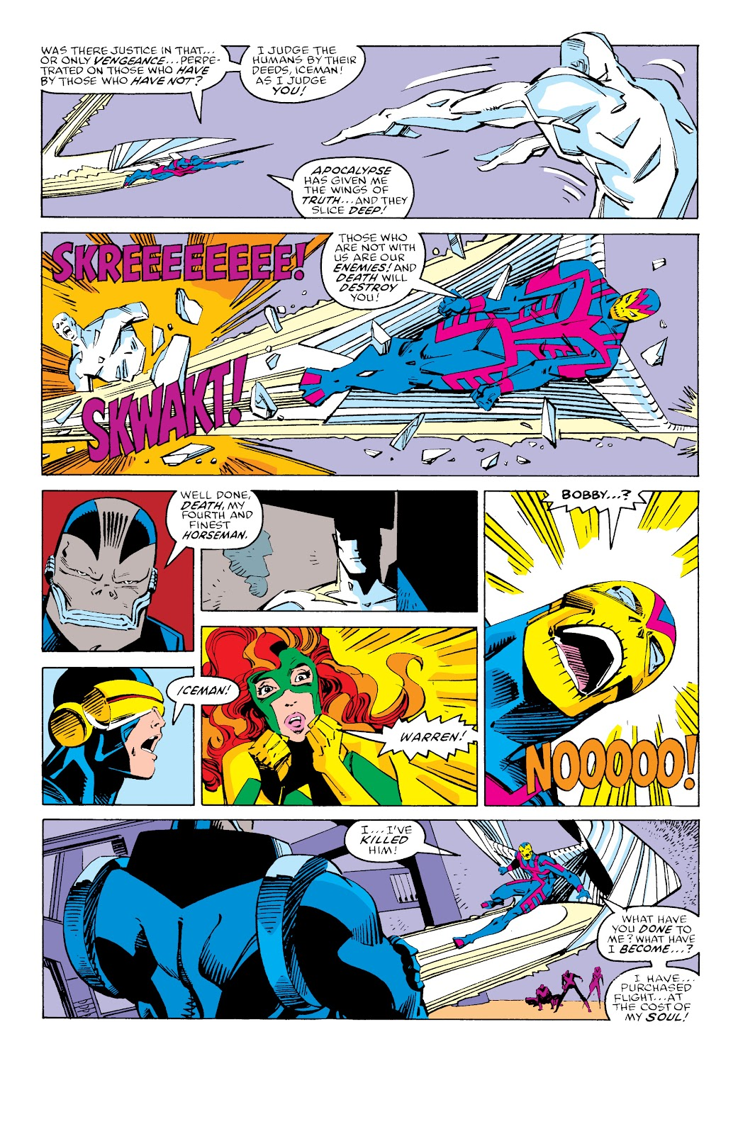 Read online X-Men Milestones: Fall of the Mutants comic -  Issue # TPB (Part 3) - 34