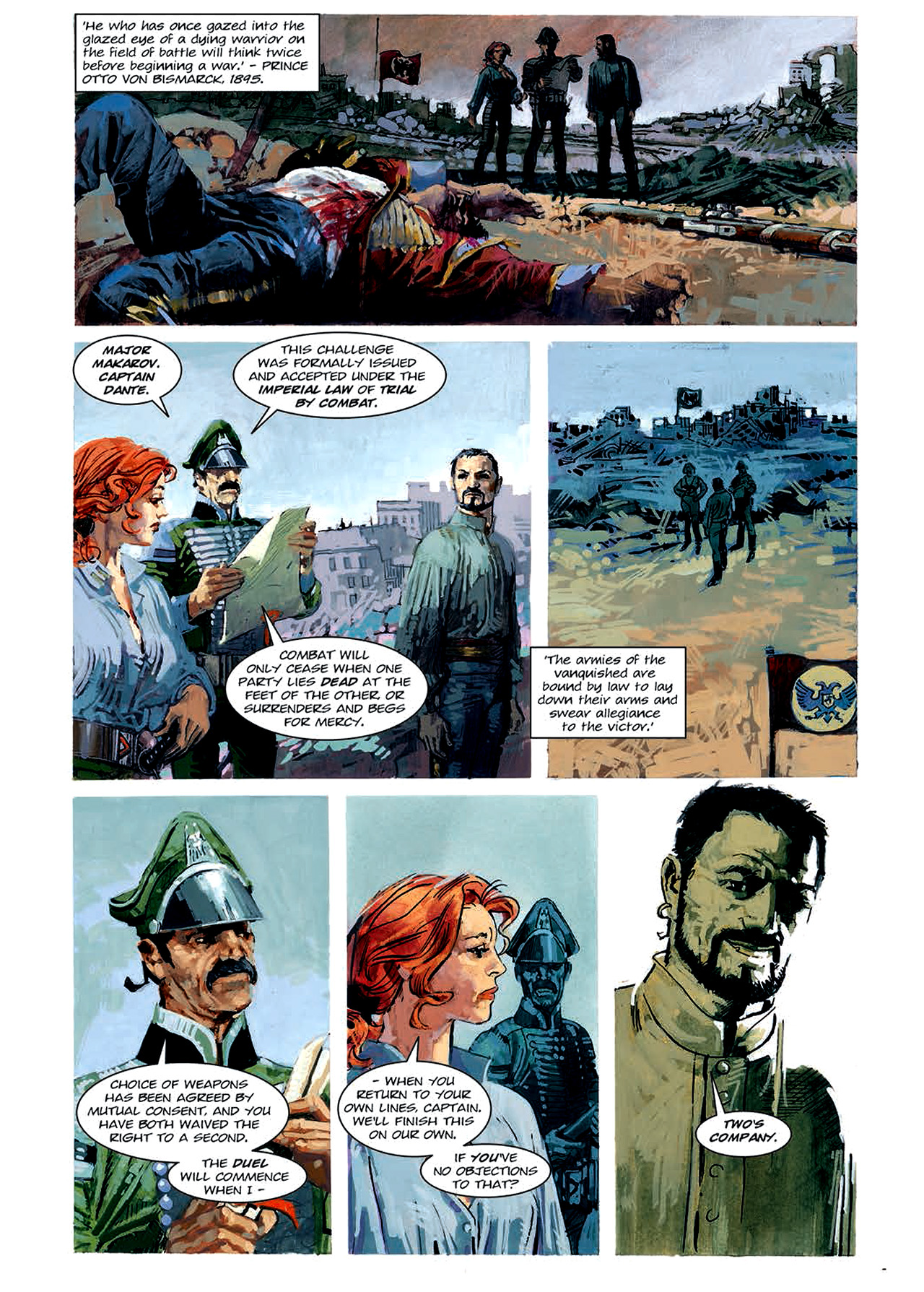 Read online Nikolai Dante comic -  Issue # TPB 4 - 89