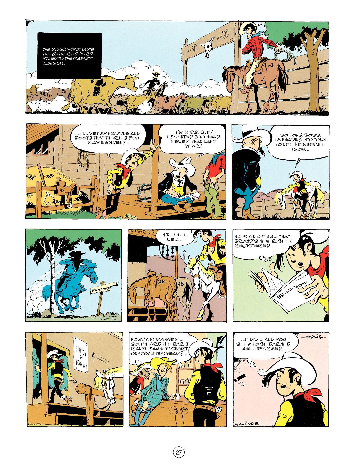 Read online A Lucky Luke Adventure comic -  Issue #56 - 27