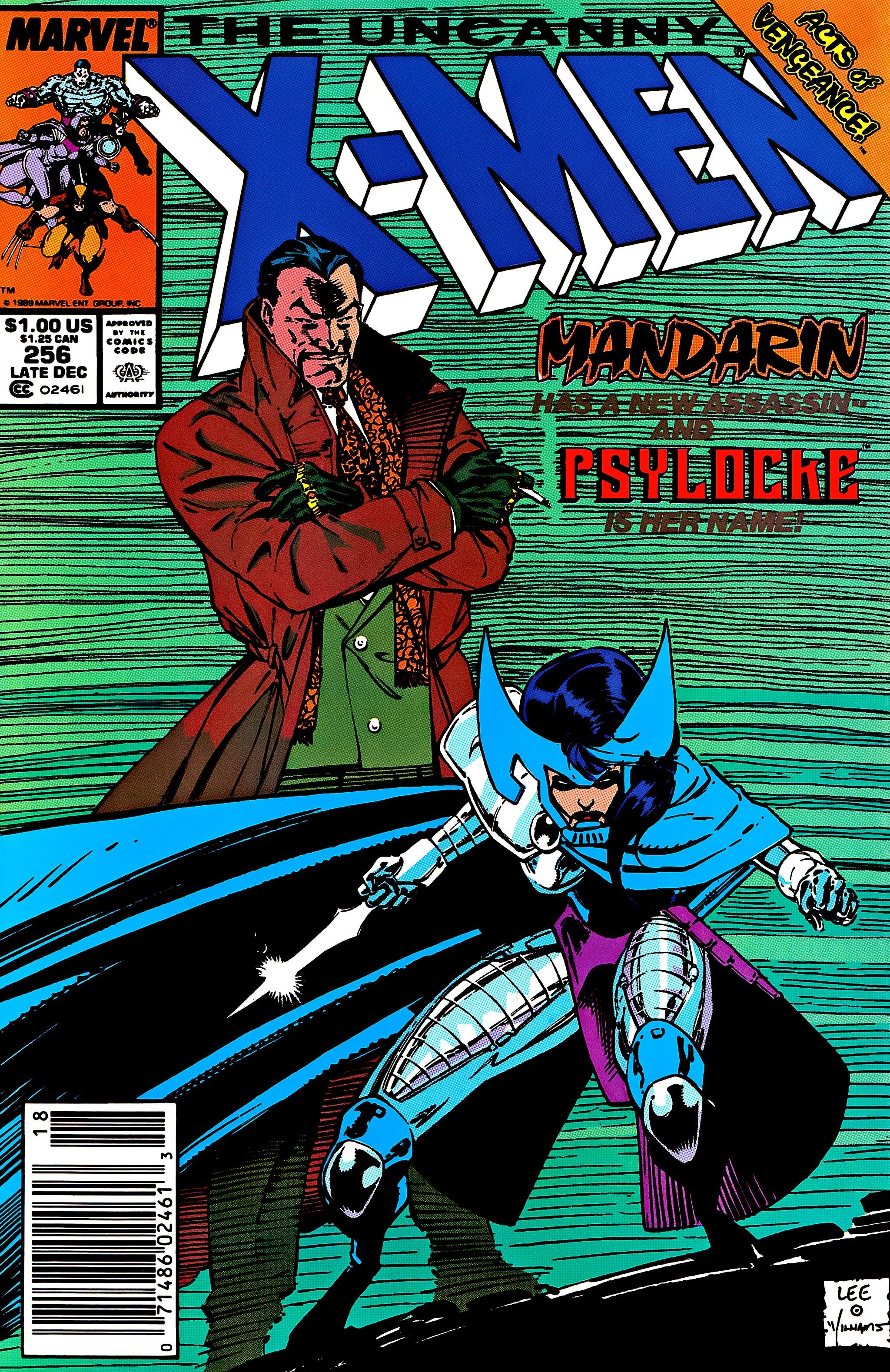 Uncanny X-Men (1963) 256 Page 1