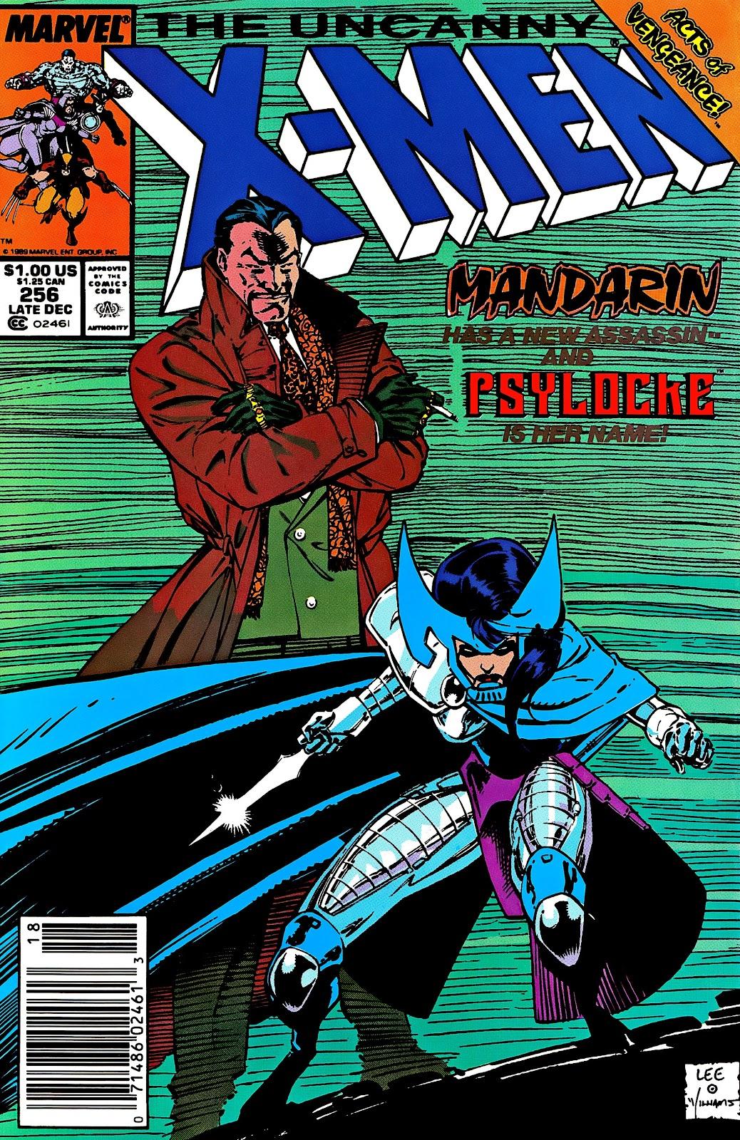 Uncanny X-Men (1963) issue 256 - Page 1