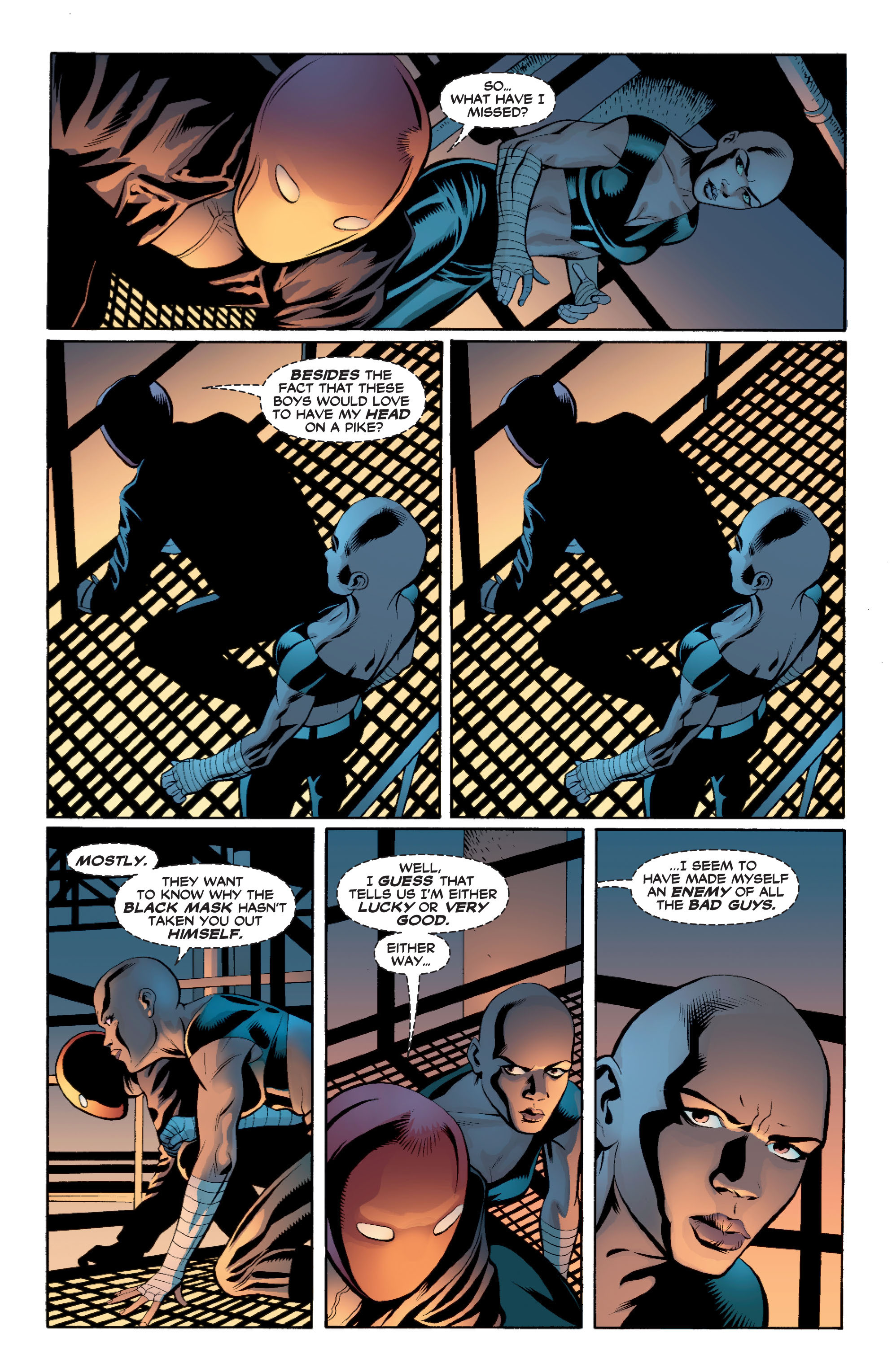 Read online Batman: Under The Red Hood comic -  Issue # Full - 131