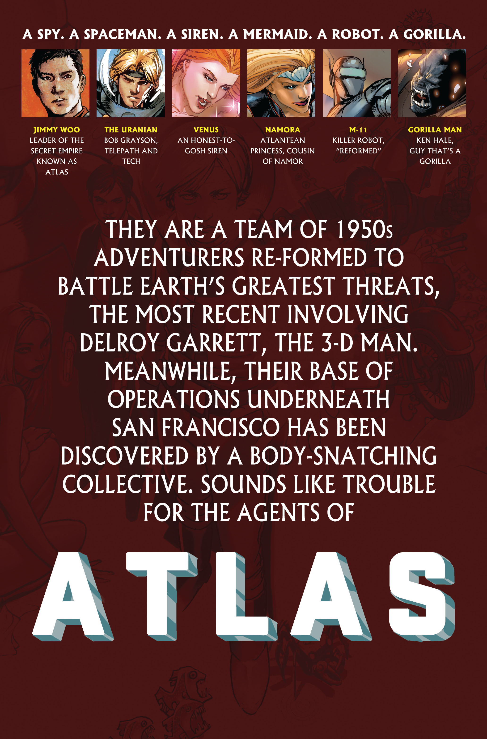 Read online Atlas comic -  Issue #3 - 2
