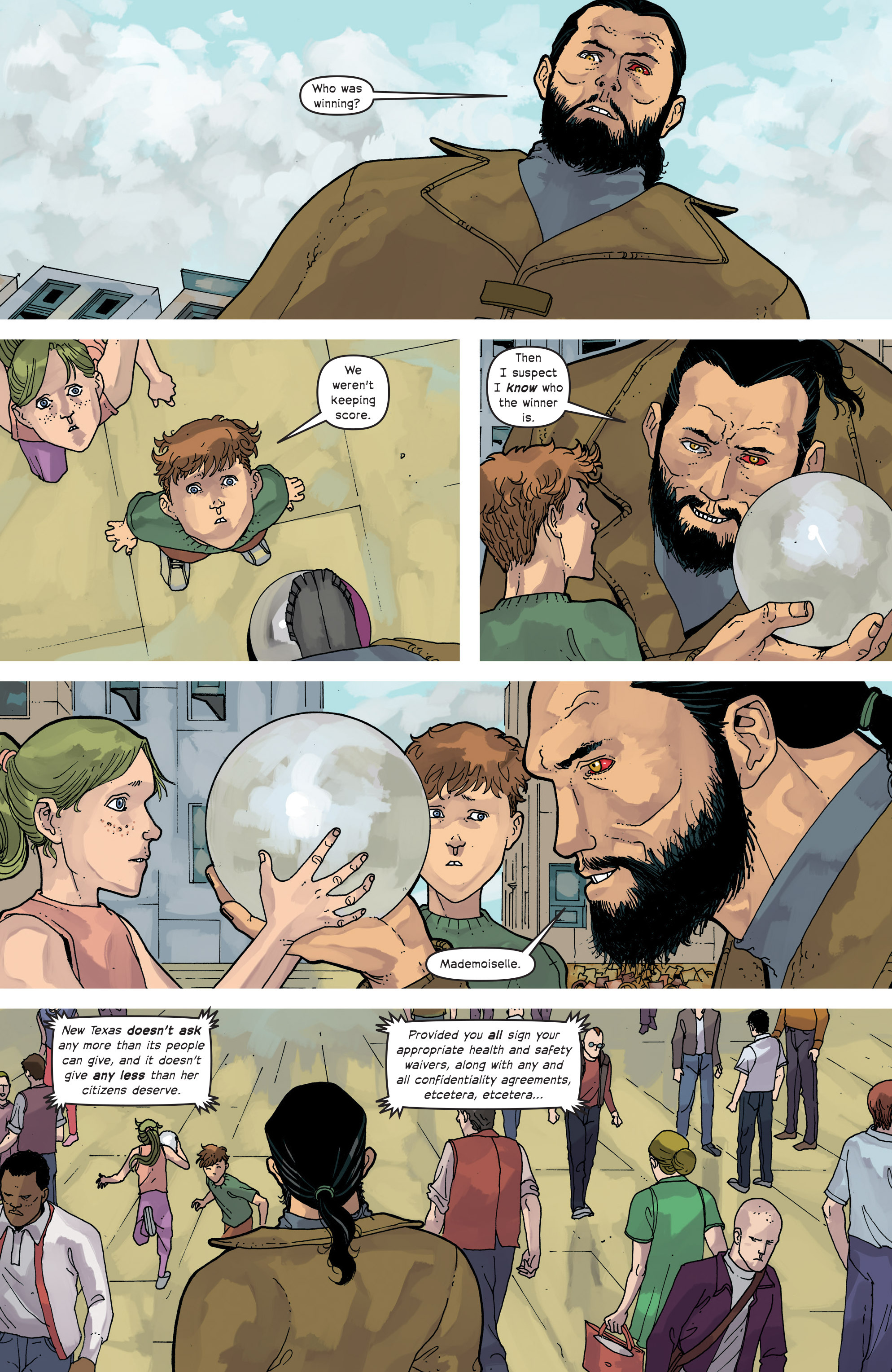 Read online Great Pacific comic -  Issue #15 - 9