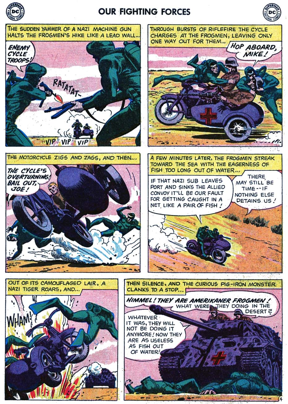 Our Fighting Forces (1954) issue 46 - Page 22