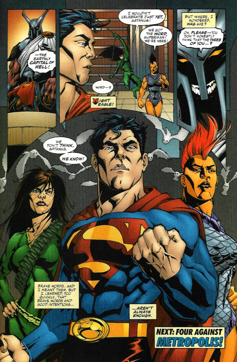 Read online Adventures of Superman (1987) comic -  Issue #586 - 22