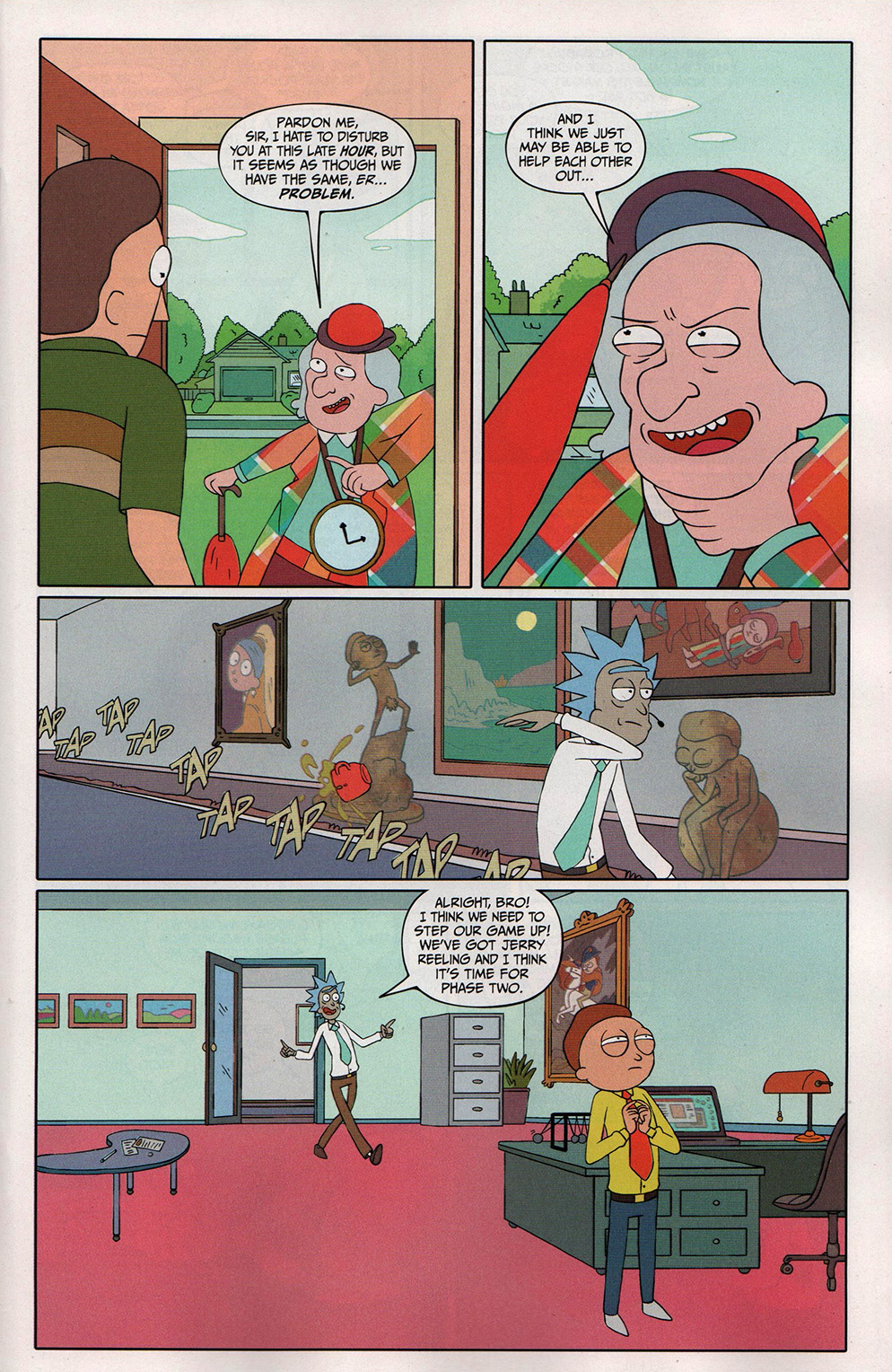 Read online Free Comic Book Day 2017 comic -  Issue # Rick and Morty - 13