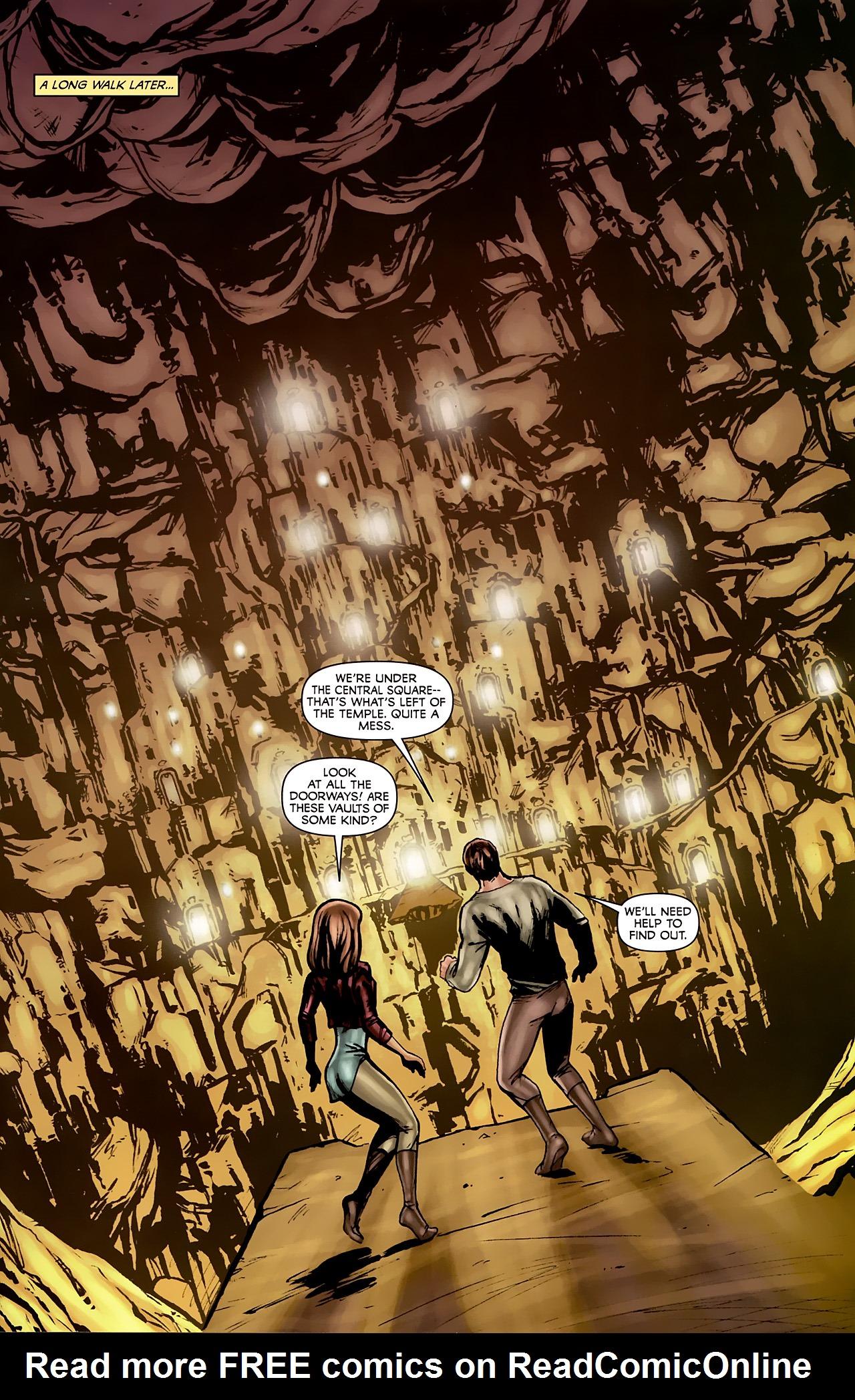 Read online Stargate: Daniel Jackson comic -  Issue #2 - 23