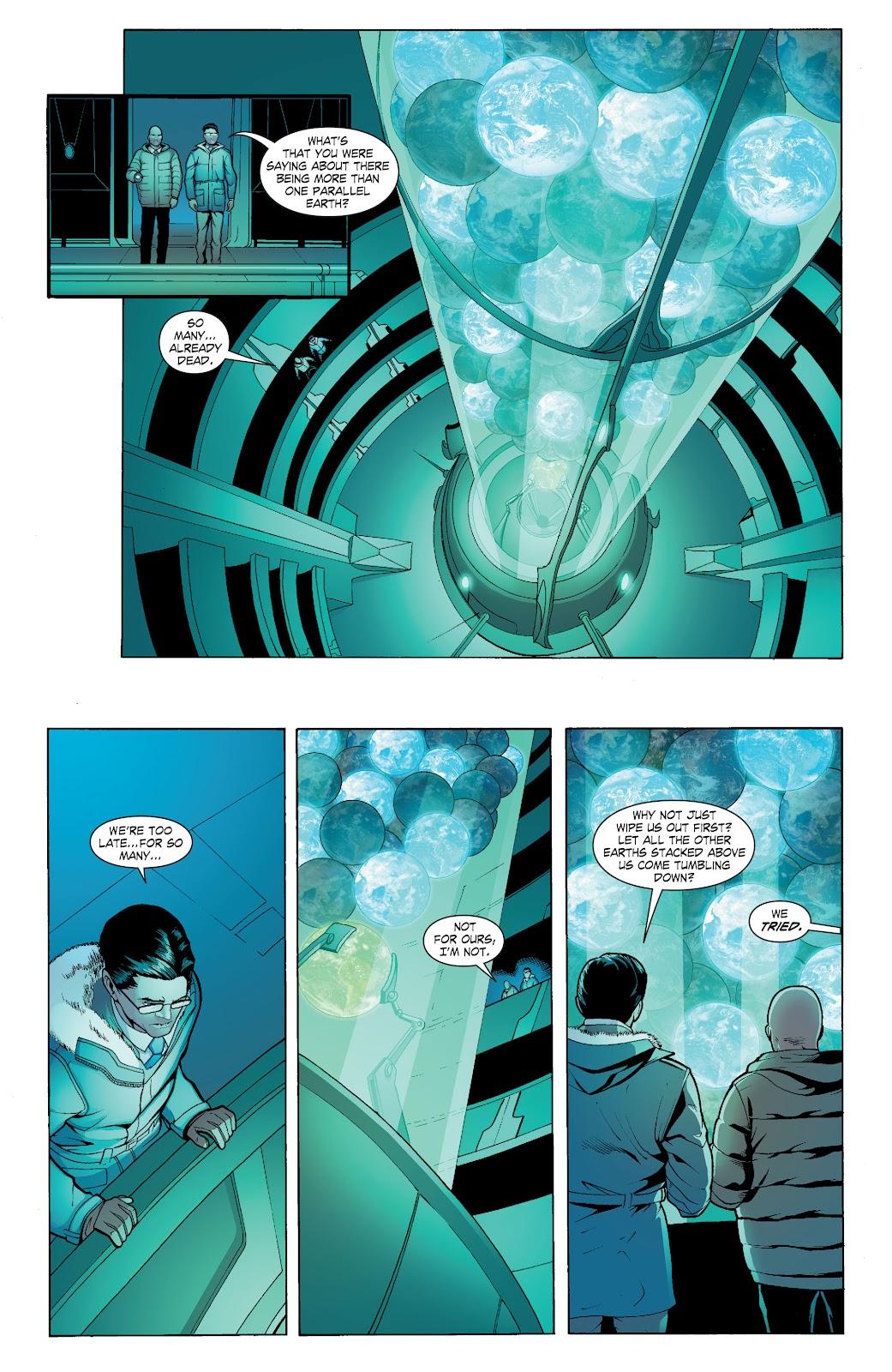 Read online Smallville Season 11 [II] comic -  Issue # TPB 6 - 131