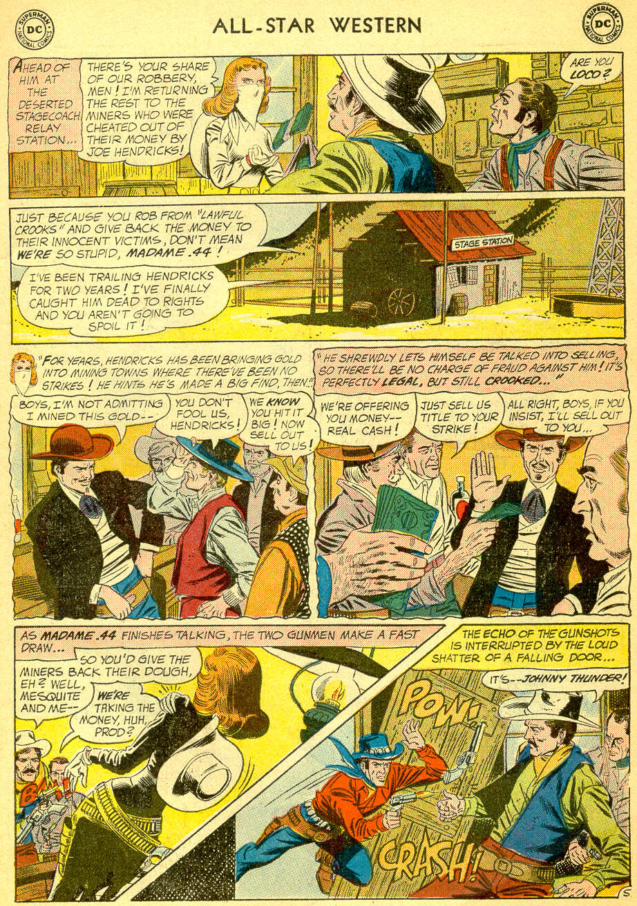 Read online All-Star Western (1951) comic -  Issue #118 - 7