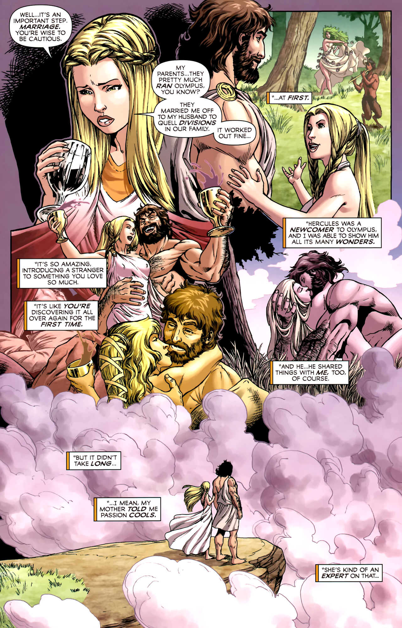 Read online Assault on New Olympus Prologue comic -  Issue #Assault on New Olympus Prologue Full - 13