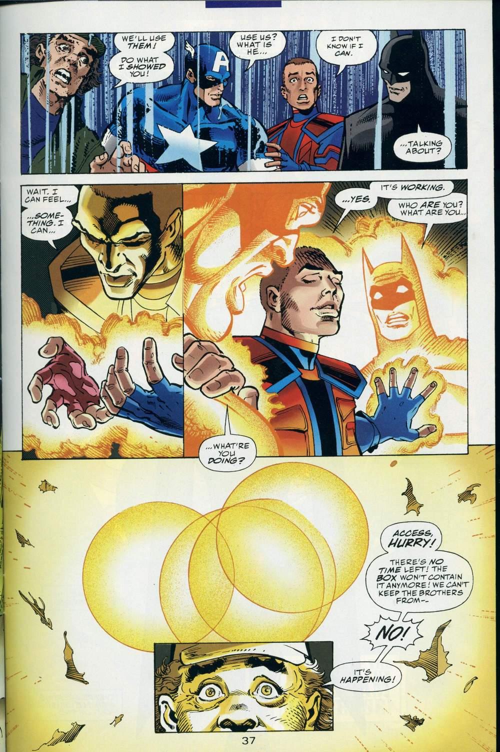 Read online DC Versus Marvel Comics comic -  Issue #3 - 38