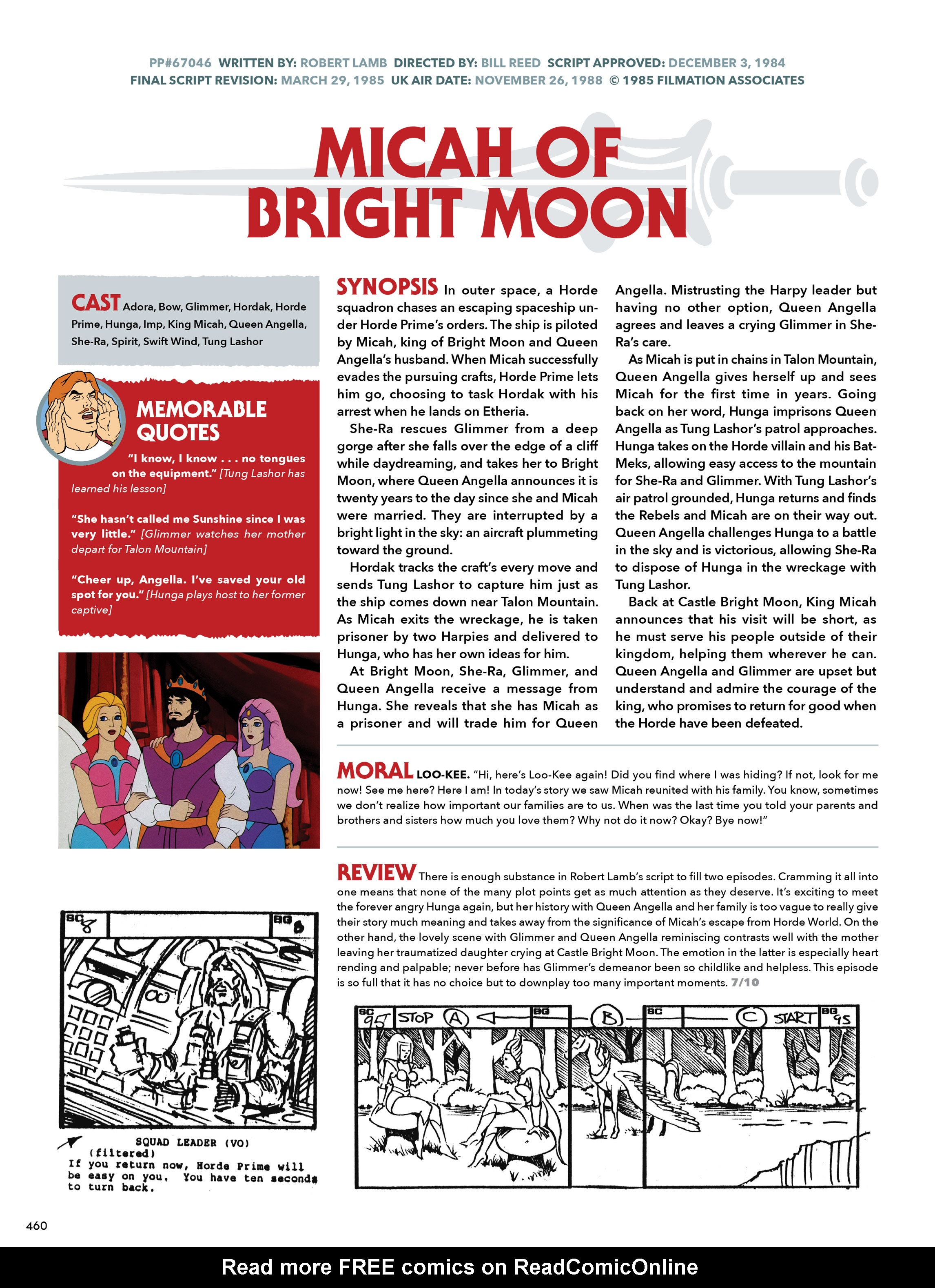 Read online He-Man and She-Ra: A Complete Guide to the Classic Animated Adventures comic -  Issue # TPB (Part 3) - 60