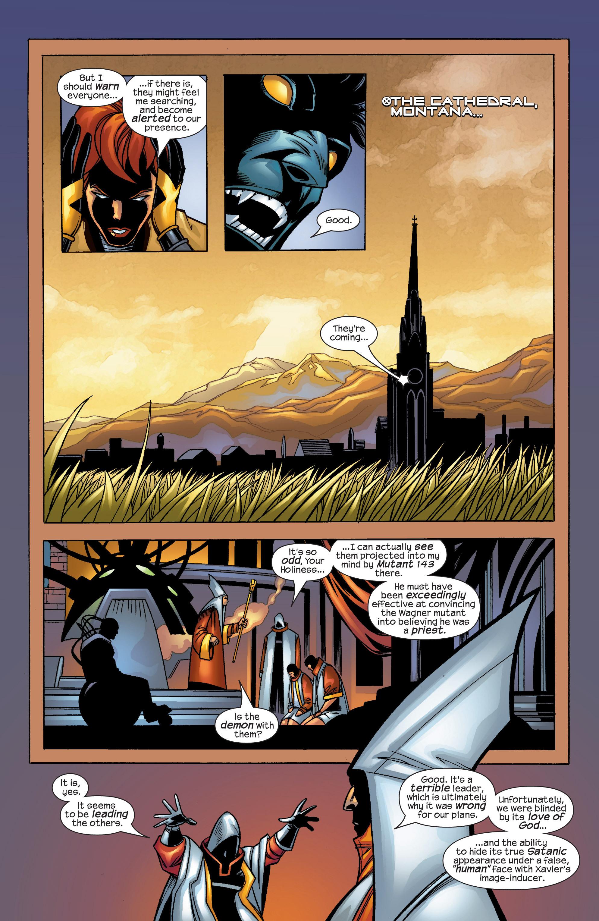 Read online Uncanny X-Men (1963) comic -  Issue #424 - 8