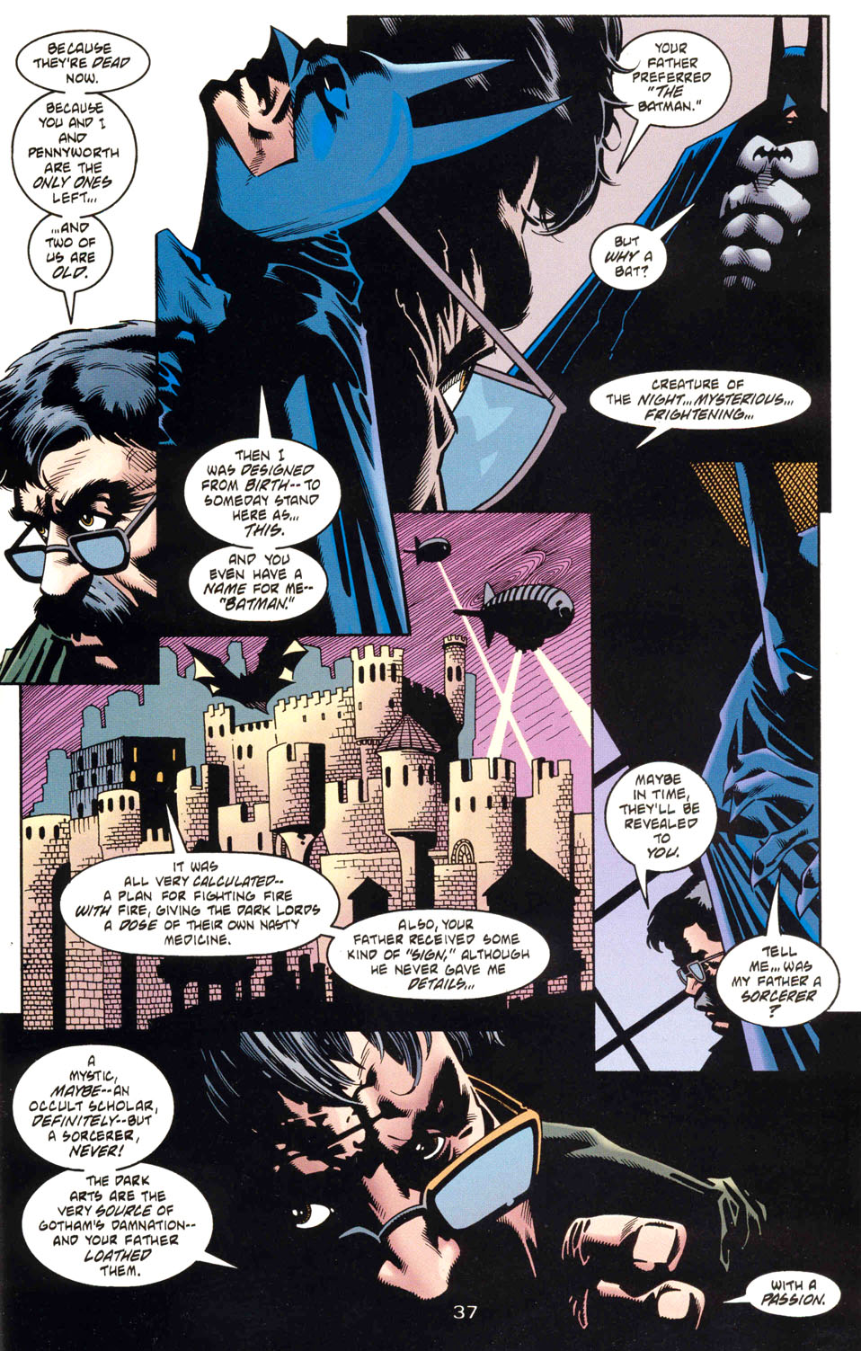 Read online Batman: Haunted Gotham comic -  Issue #1 - 39