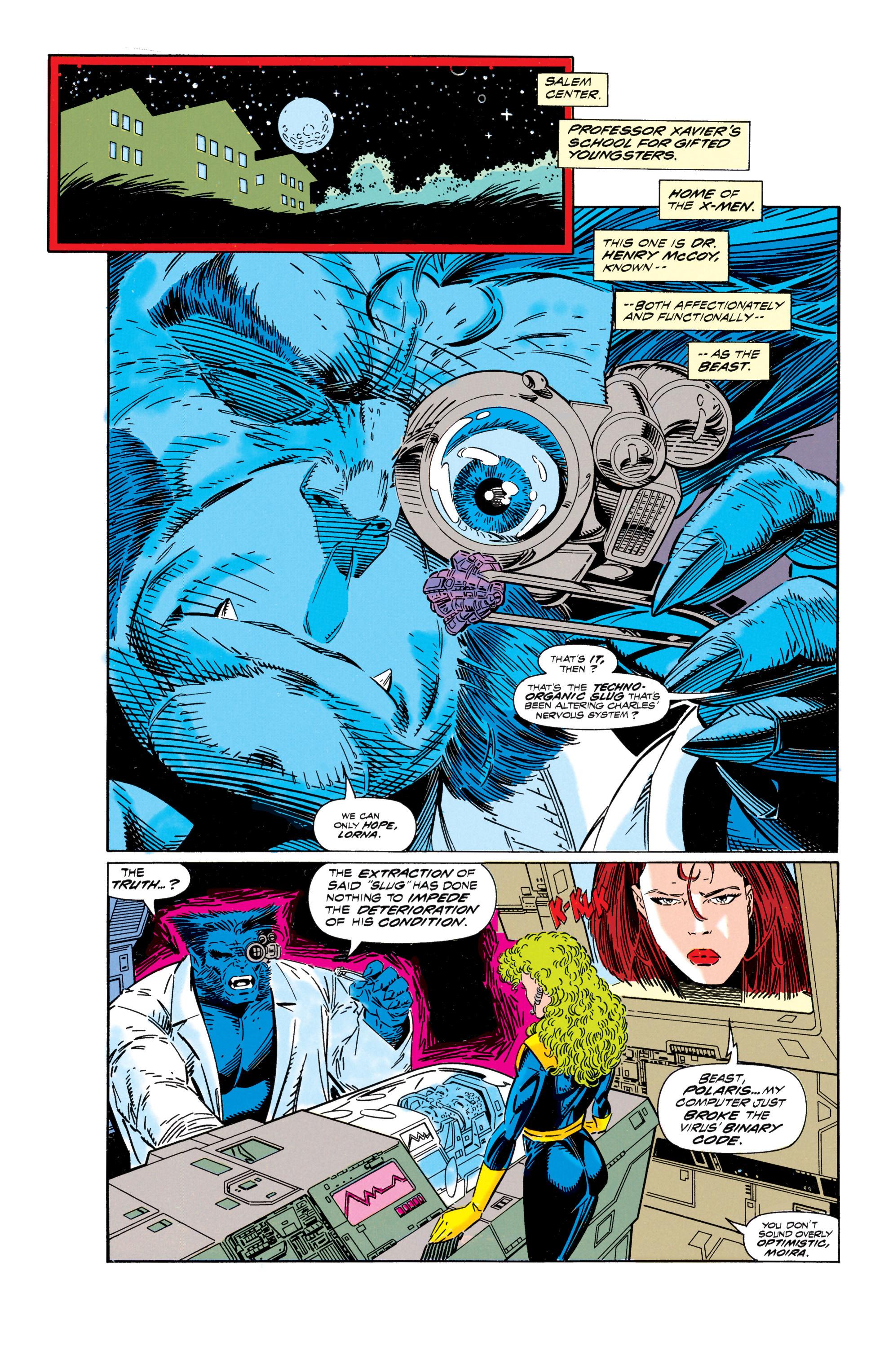 Read online Uncanny X-Men (1963) comic -  Issue #296 - 6