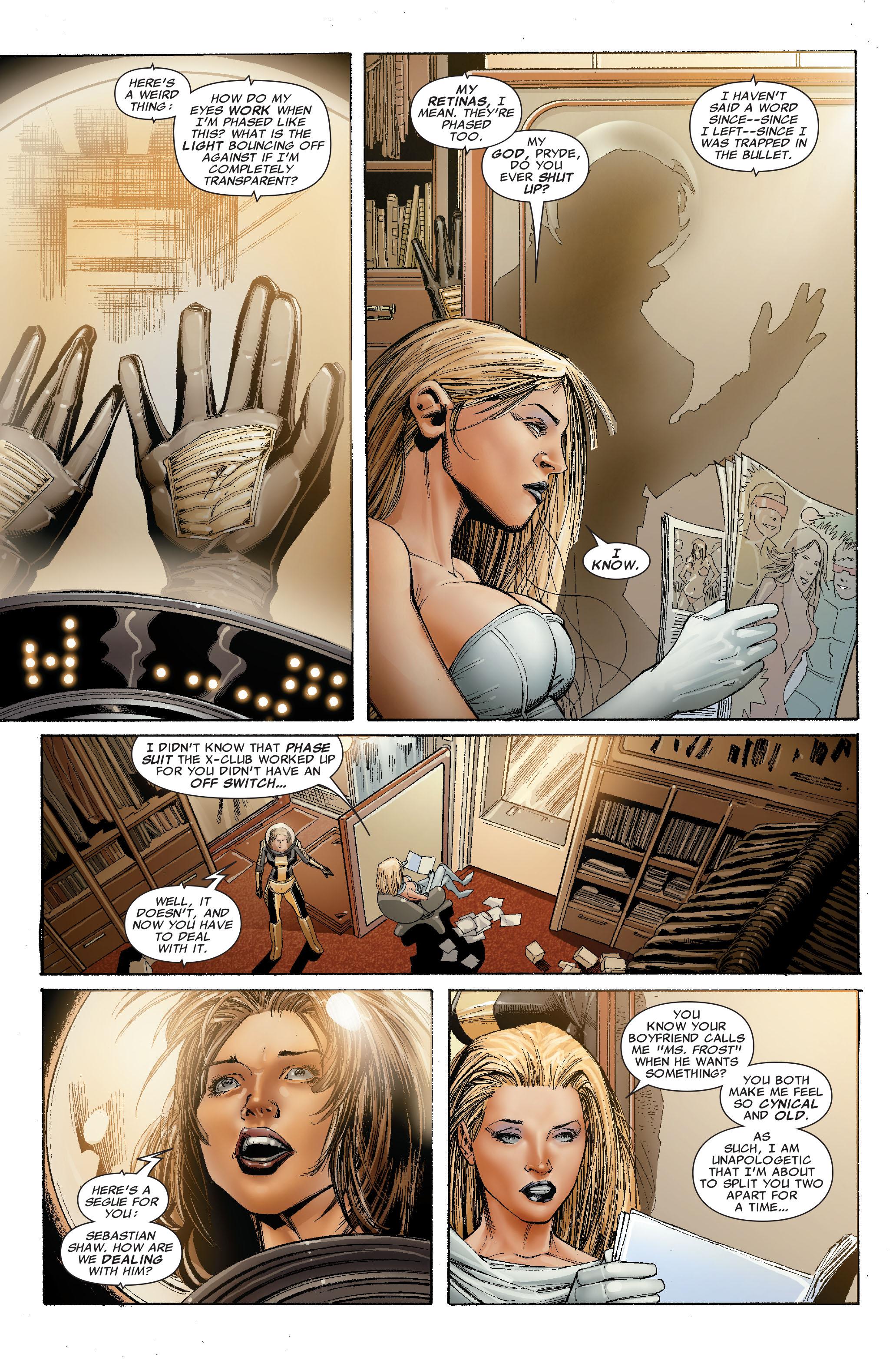 Read online Uncanny X-Men (1963) comic -  Issue #529 - 20