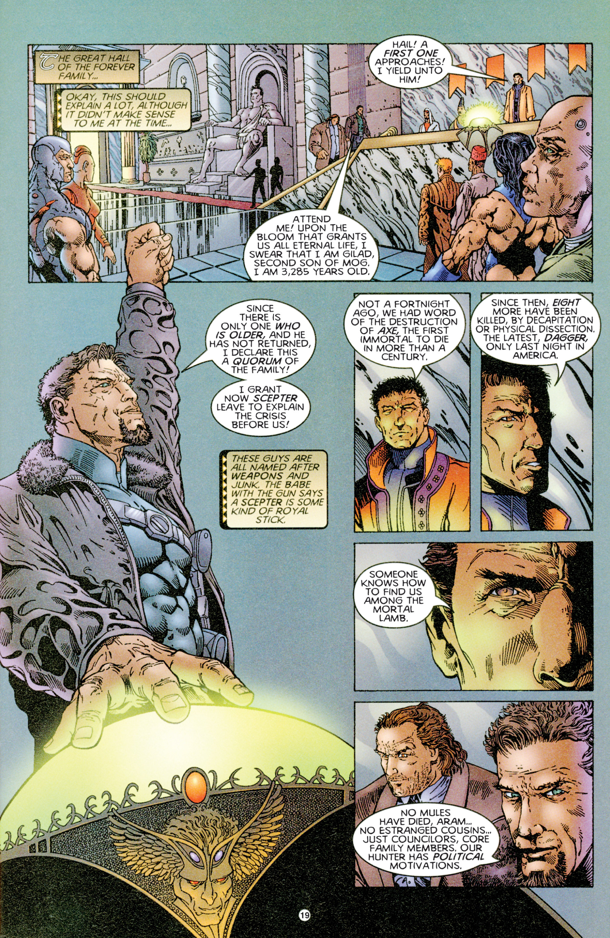 Read online Eternal Warriors comic -  Issue # Issue Time & Treachery - 18