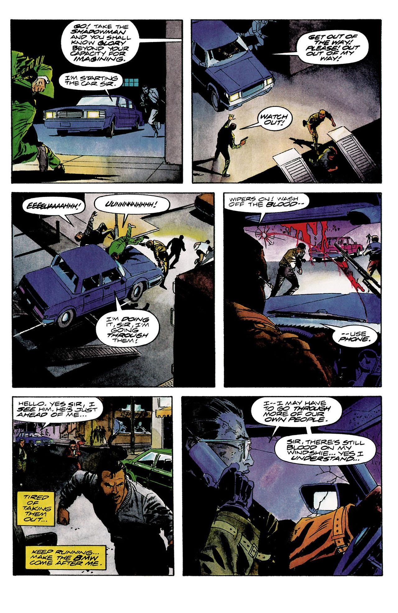 Read online Shadowman (1992) comic -  Issue #8 - 14