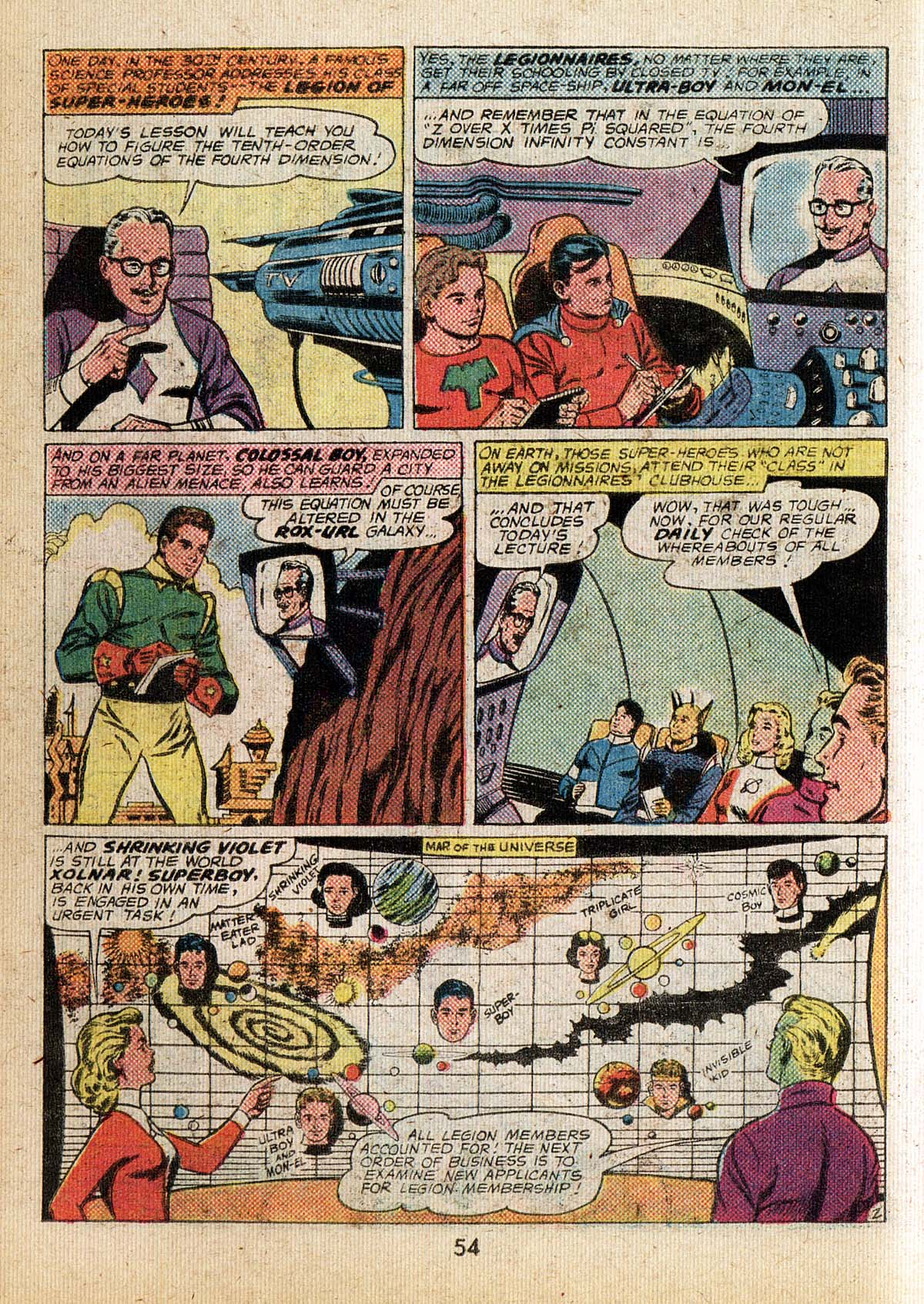 Read online Adventure Comics (1938) comic -  Issue #500 - 54