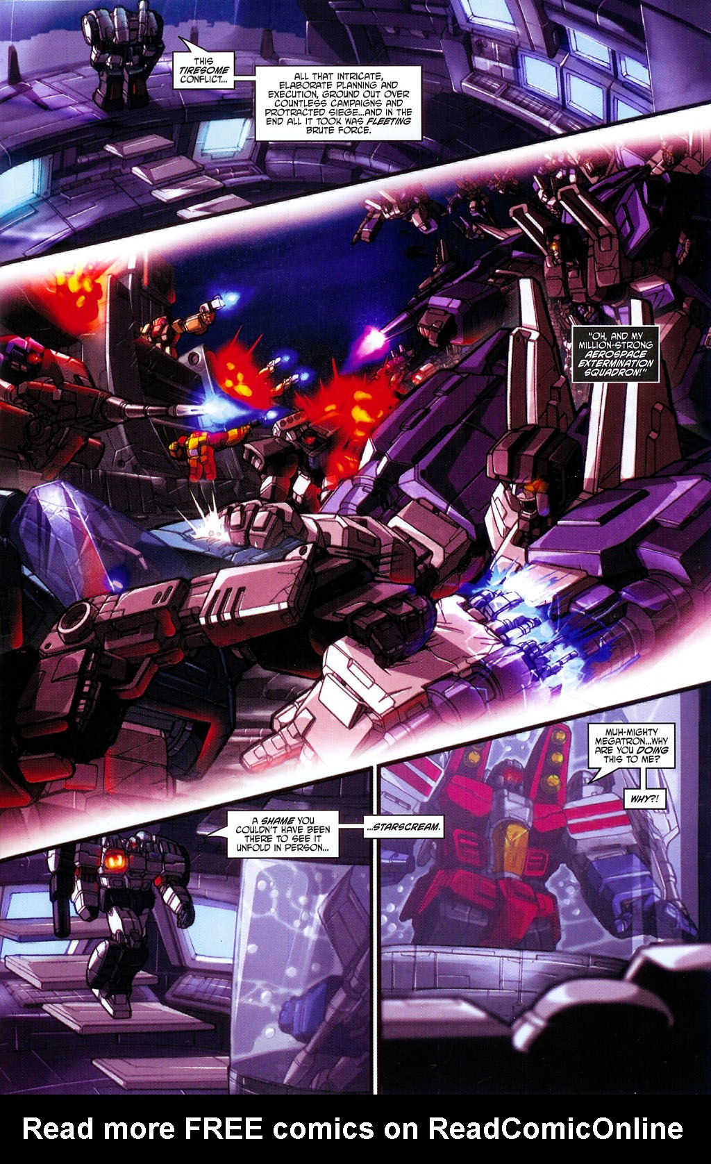 """Read online Transformers War Within: """"The Age of Wrath"""" comic -  Issue #2 - 4"""