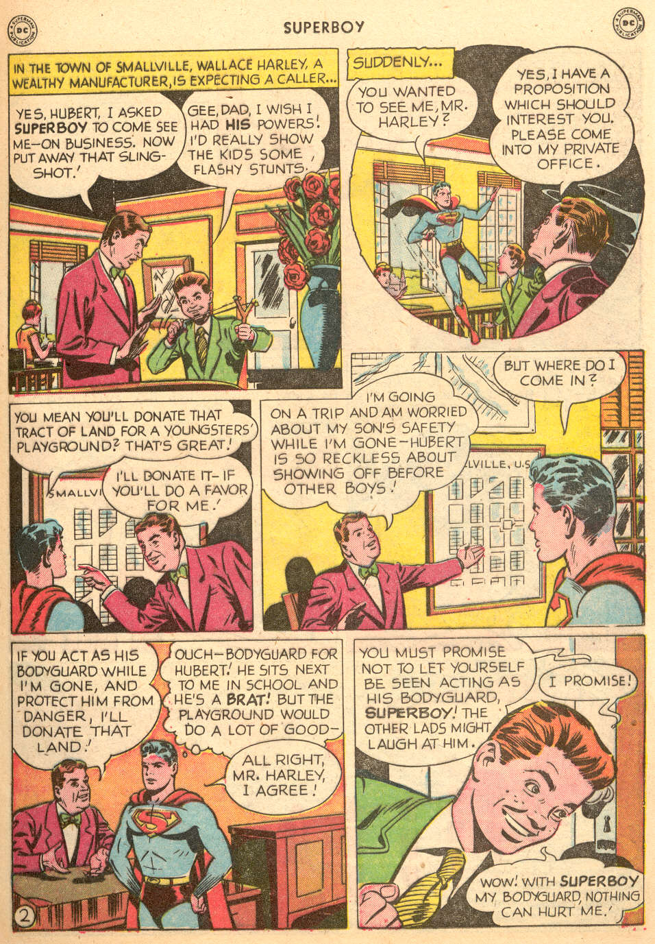 Superboy (1949) issue 3 - Page 15