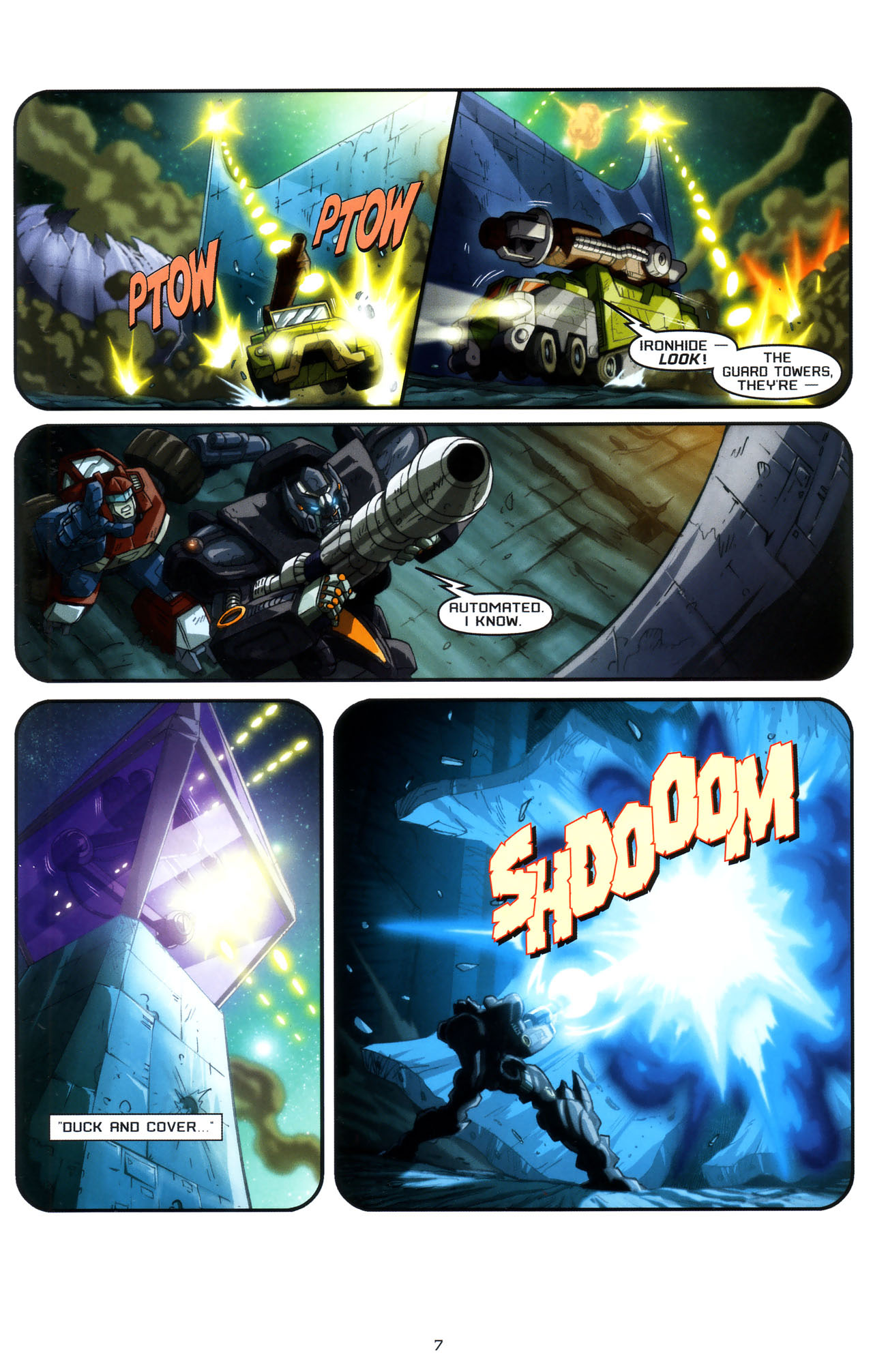 Read online Transformers: Saga of the Allspark comic -  Issue #3 - 10