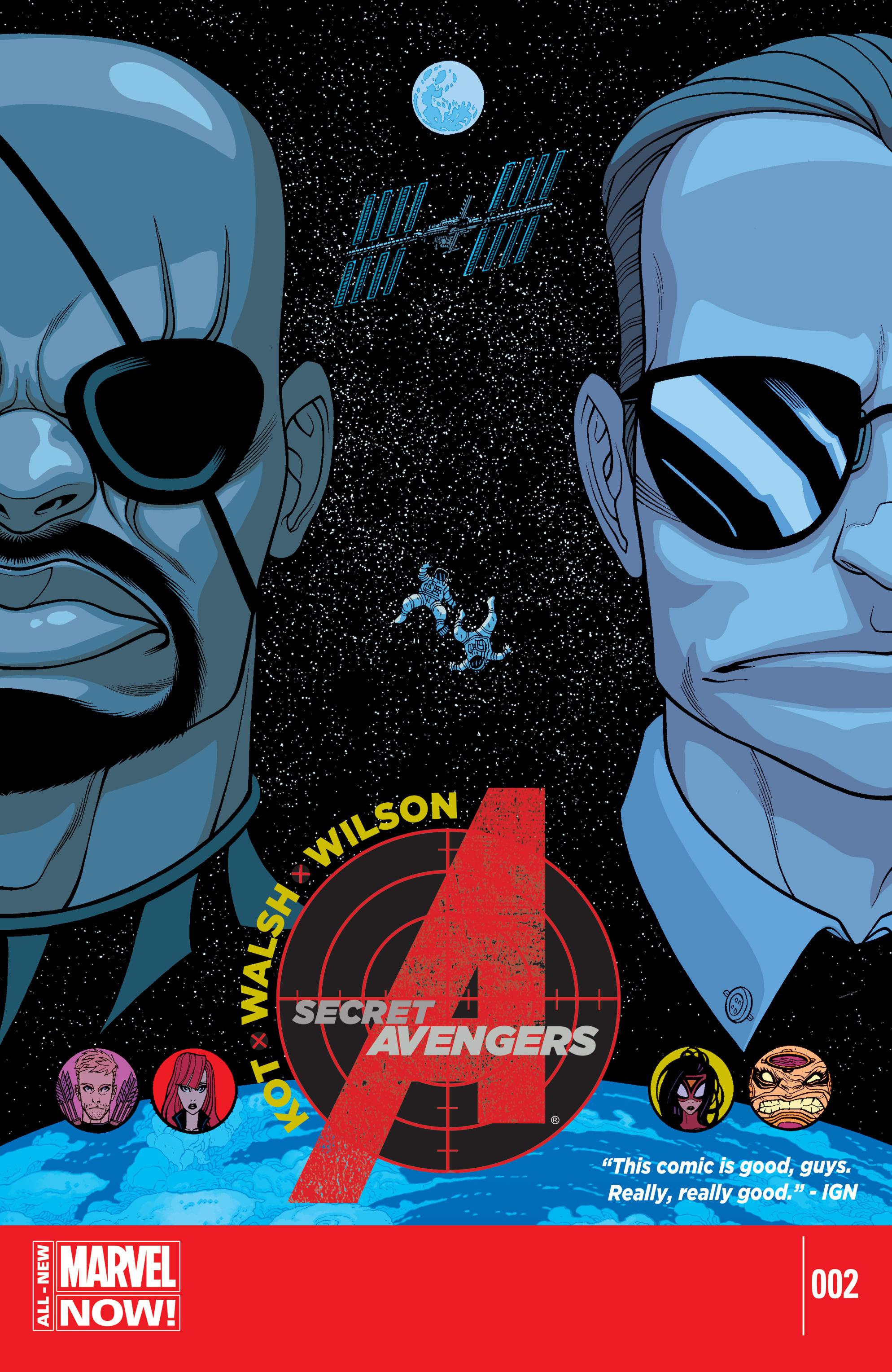 Read online Secret Avengers (2014) comic -  Issue #2 - 1