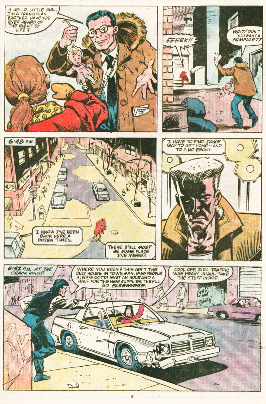 Read online Justice (1986) comic -  Issue #6 - 6