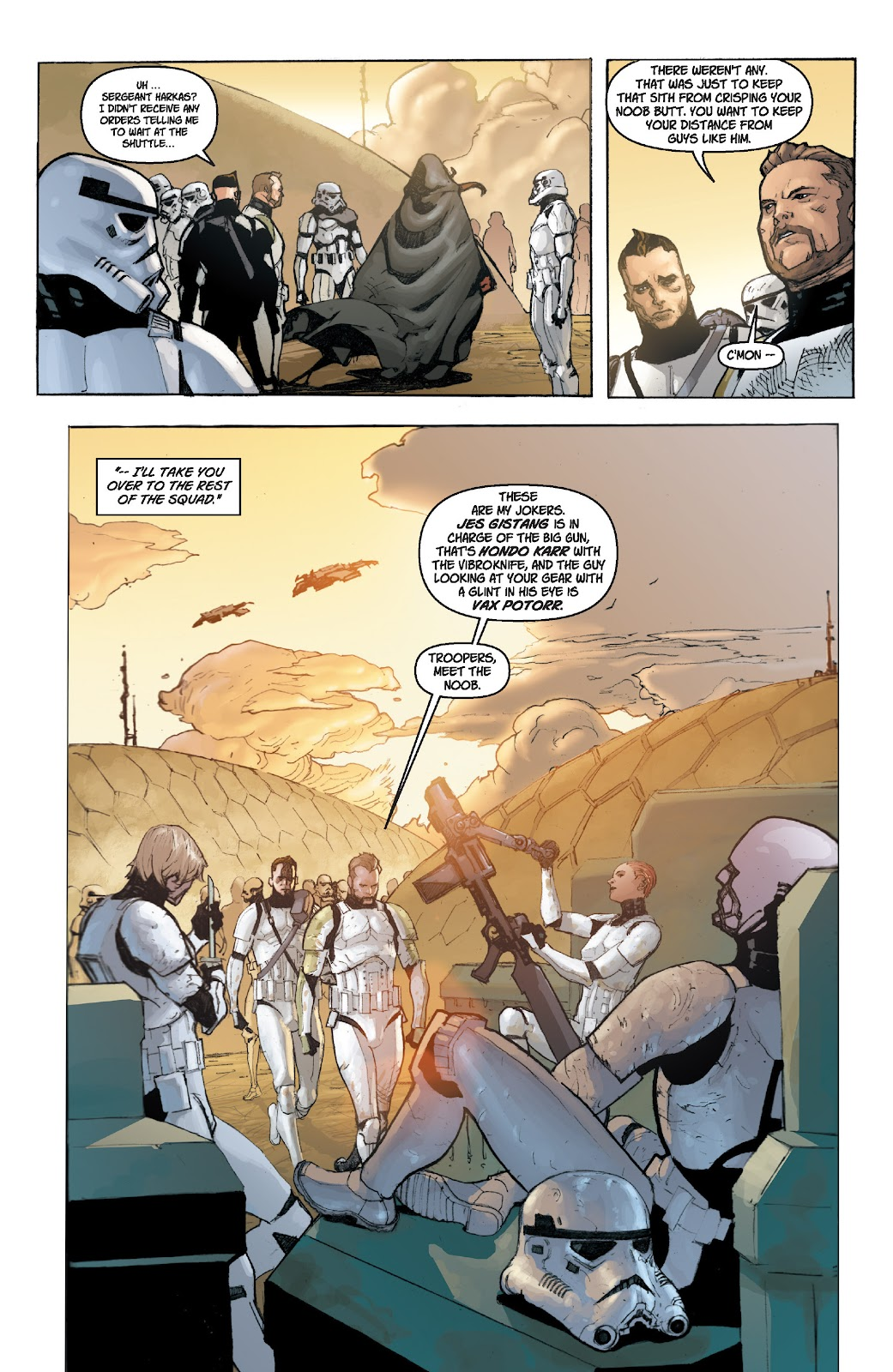Read online Star Wars Legends: Legacy - Epic Collection comic -  Issue # TPB 1 (Part 2) - 78