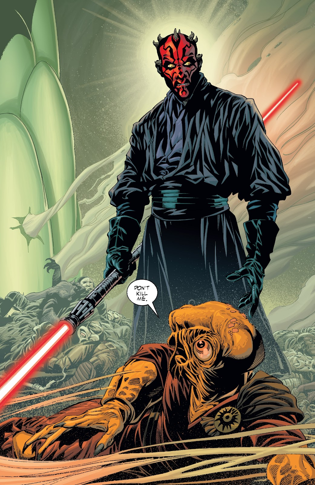 Read online Star Wars Legends: Rise of the Sith - Epic Collection comic -  Issue # TPB 2 (Part 2) - 87