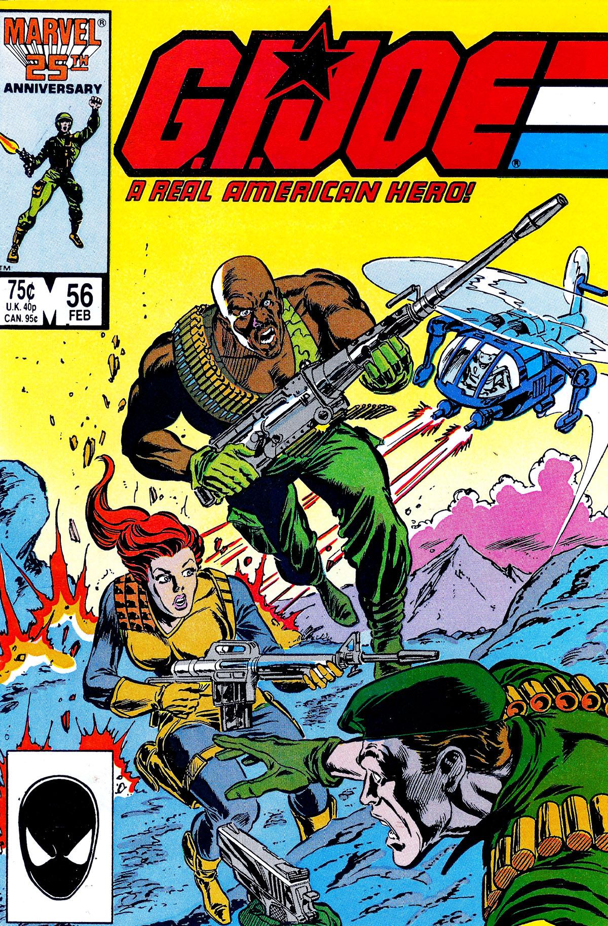 G.I. Joe: A Real American Hero 56 Page 1