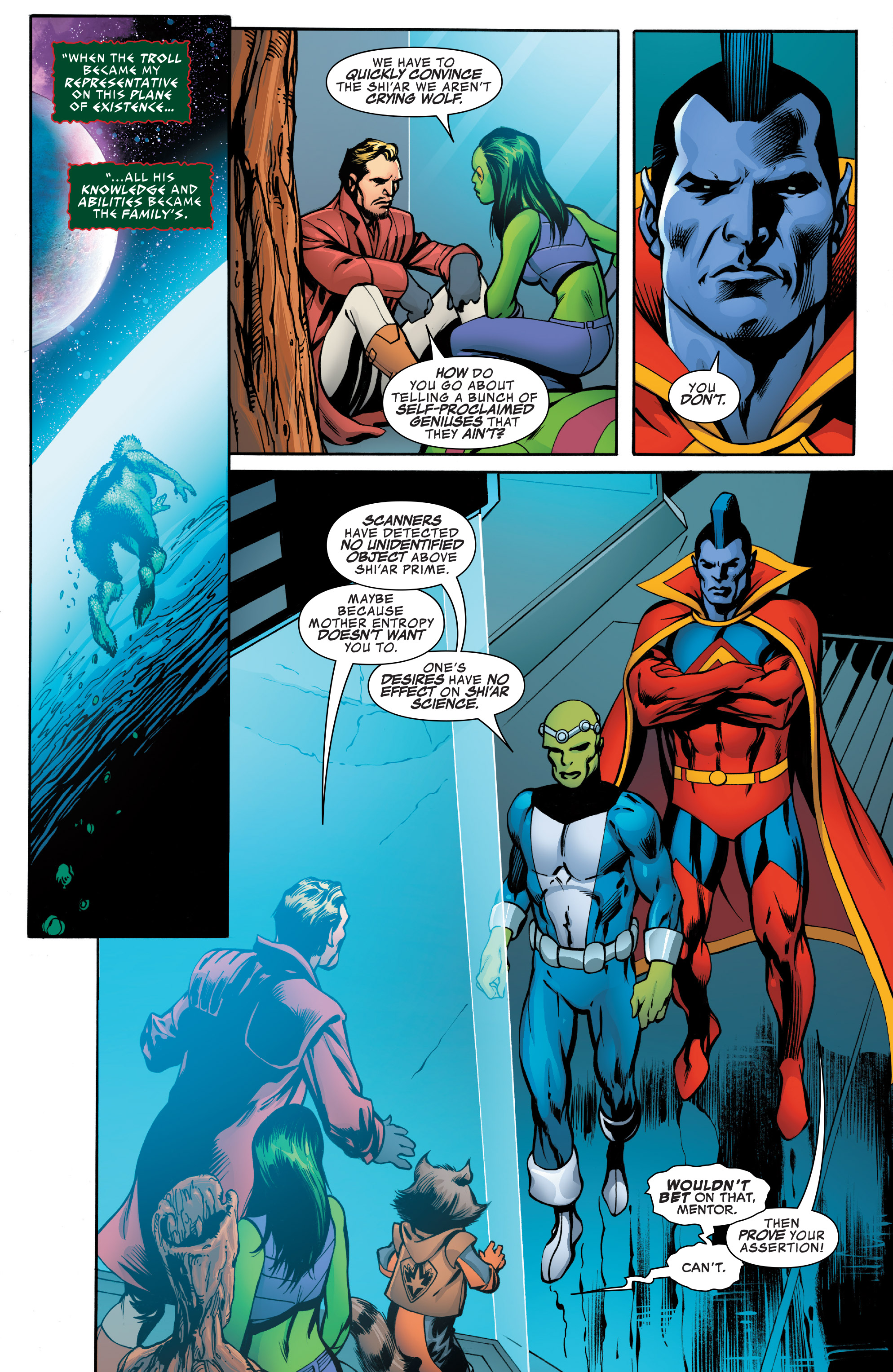 Read online Guardians of the Galaxy: Mother Entropy comic -  Issue #4 - 7