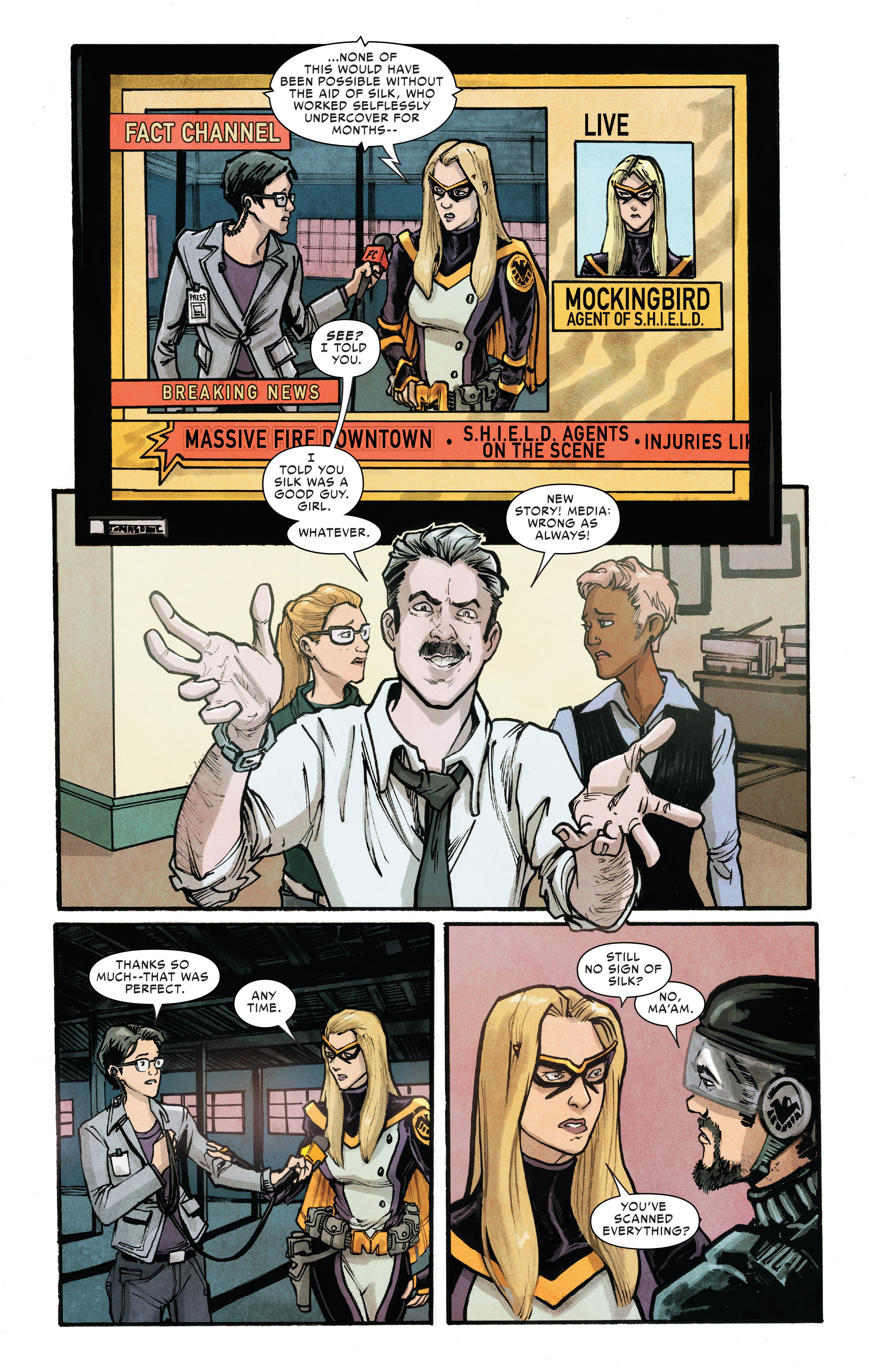 Read online Silk (2016) comic -  Issue #10 - 20