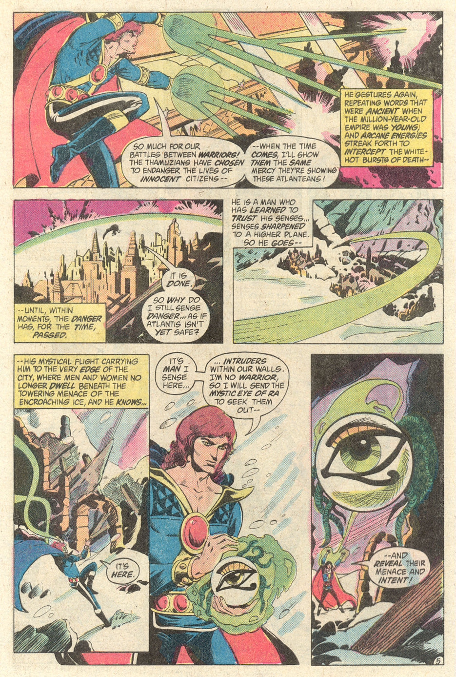 Read online Arion, Lord of Atlantis comic -  Issue #2 - 5