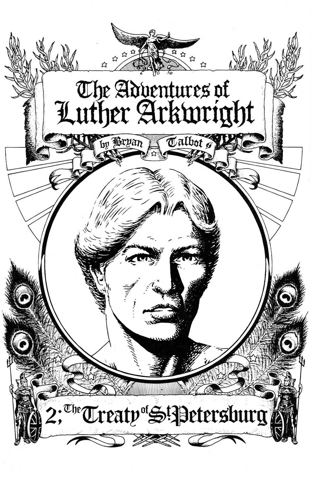 Read online The Adventures of Luther Arkwright comic -  Issue #2 - 3