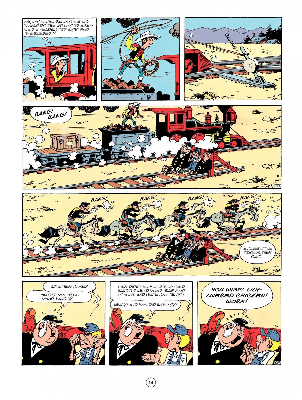 Read online A Lucky Luke Adventure comic -  Issue #53 - 14