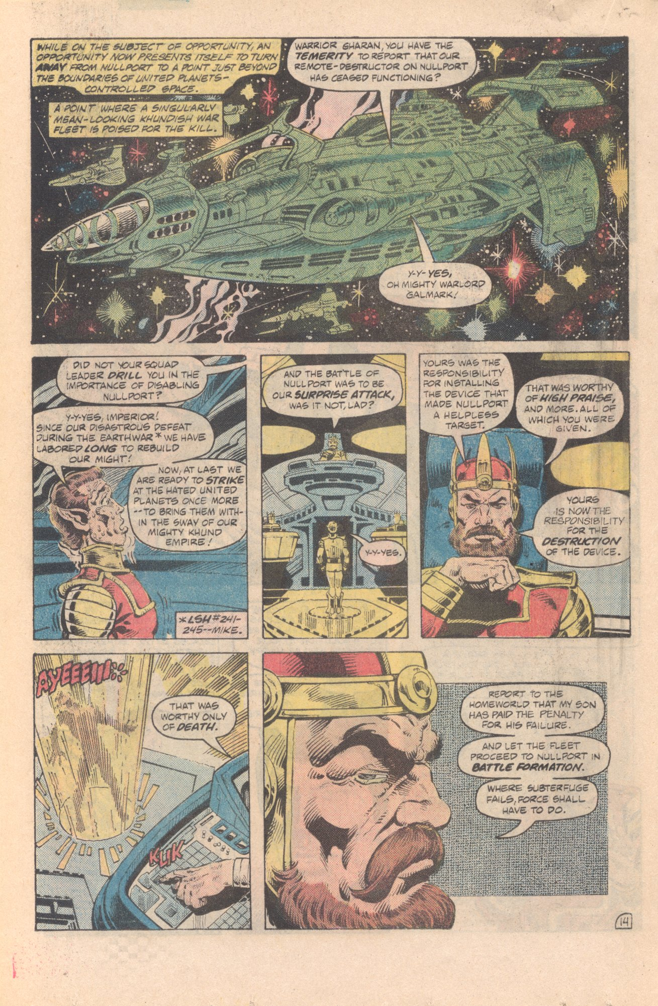 Legion of Super-Heroes (1980) 285 Page 14