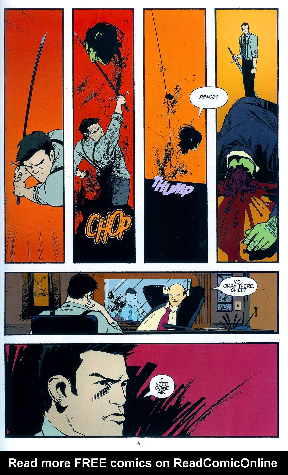 Read online Angel: Masks comic -  Issue # Full - 43