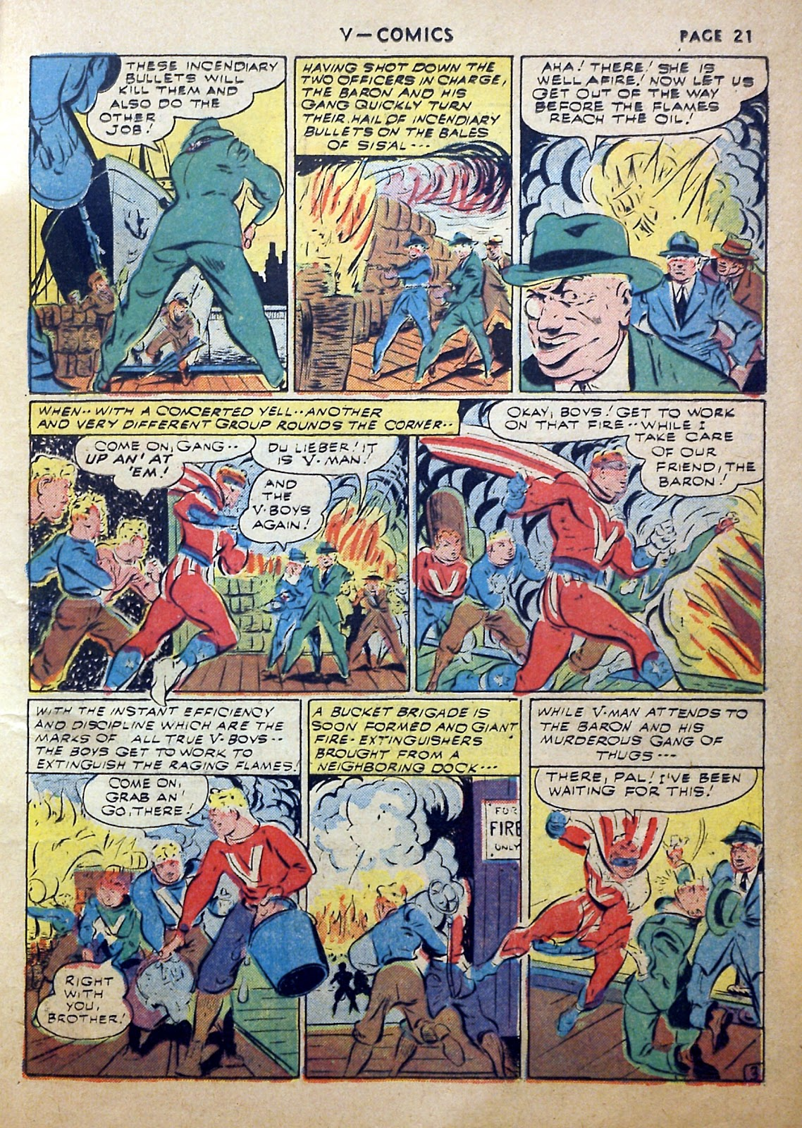 Read online V...- Comics comic -  Issue #2 - 22