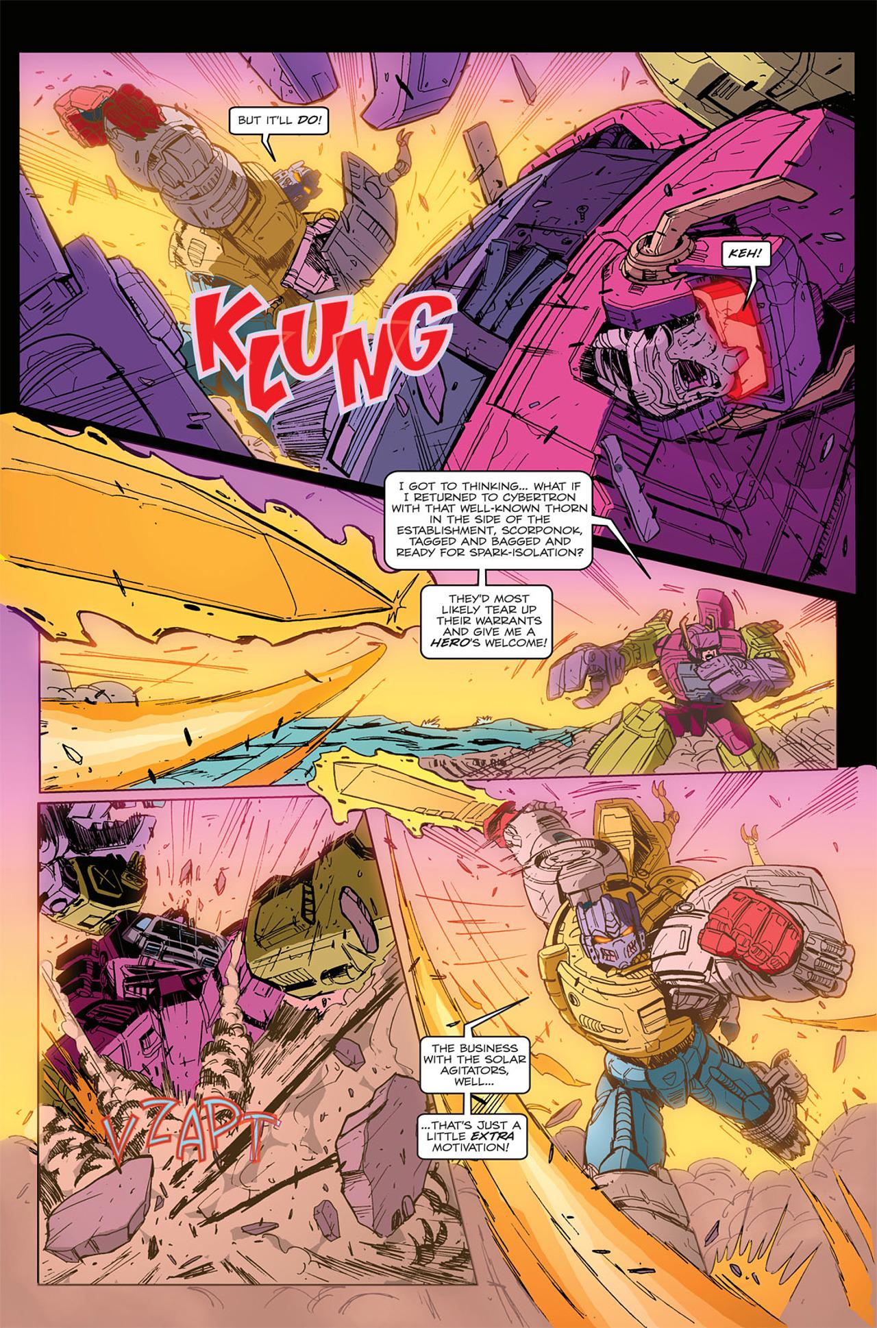 Read online Transformers Spotlight: Grimlock comic -  Issue # Full - 20