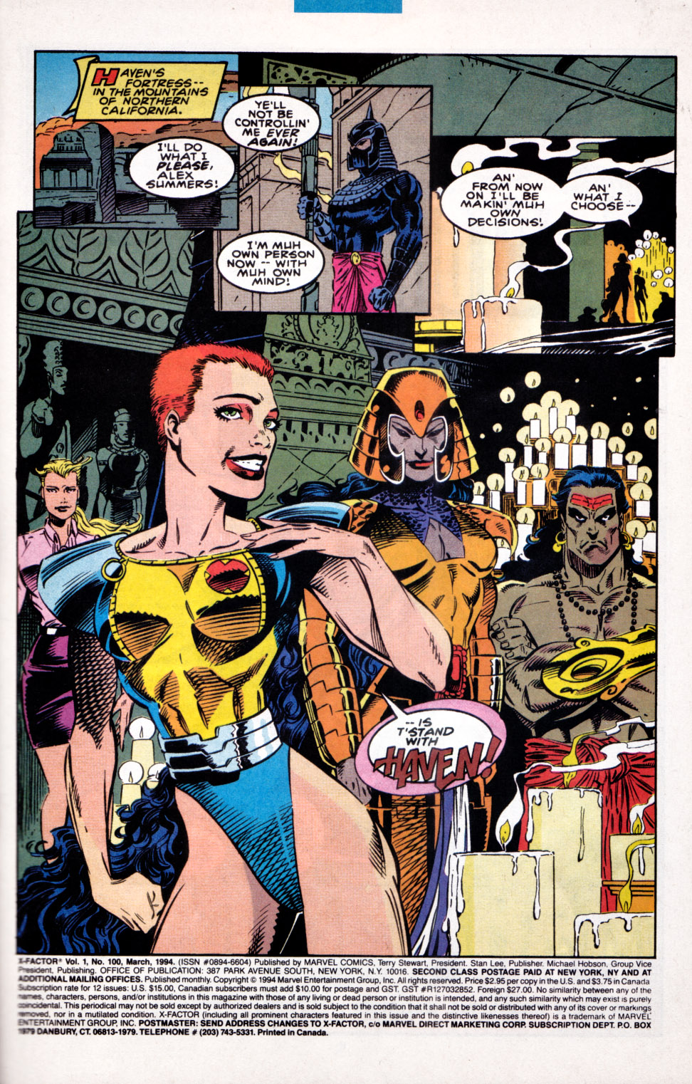 Read online X-Factor (1986) comic -  Issue #100 - 2